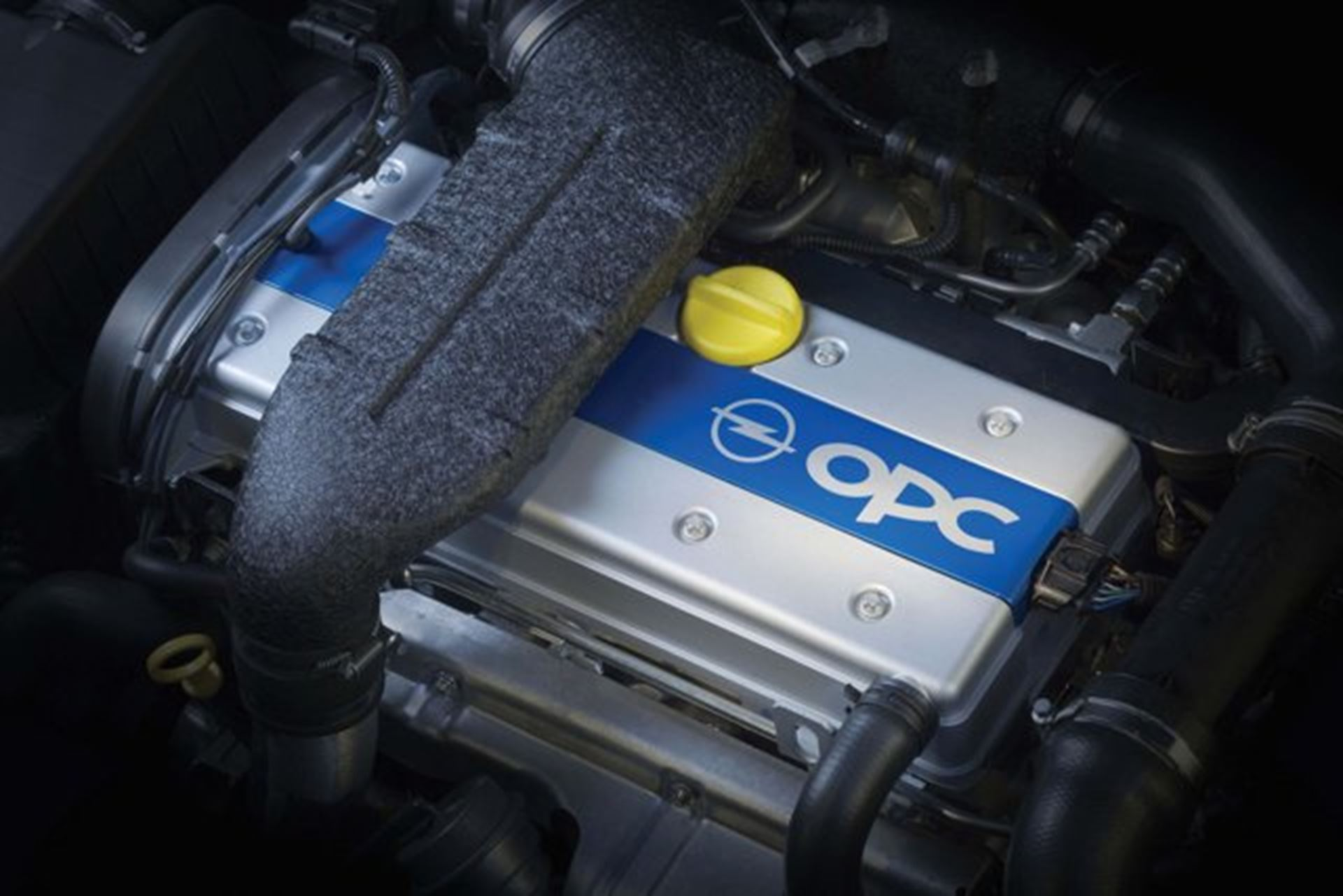 Opel OPC Engine Car Shows