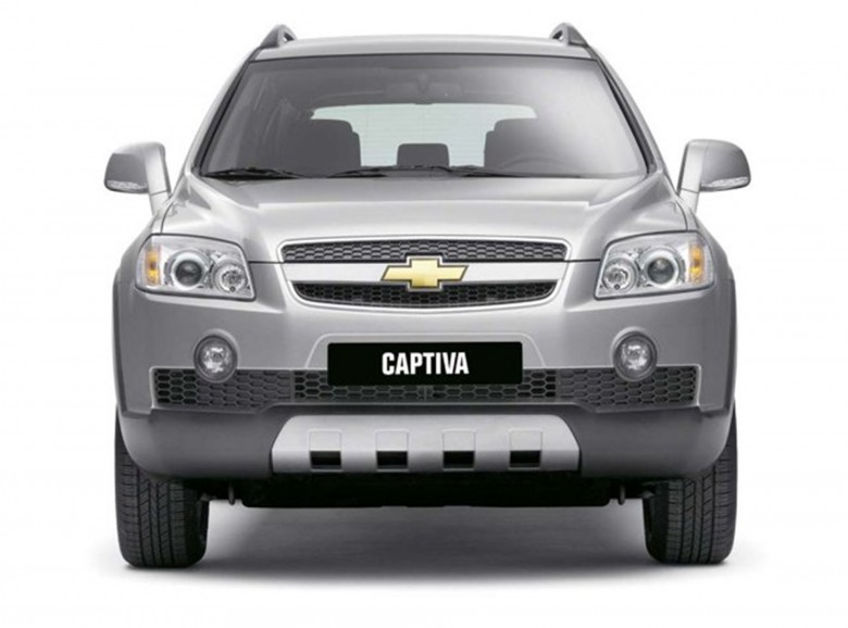 Chevrolet Captiva Car Shows