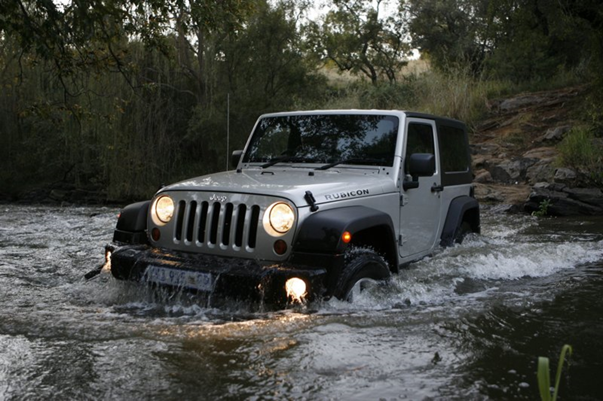 Off Road Jeep Wrangler