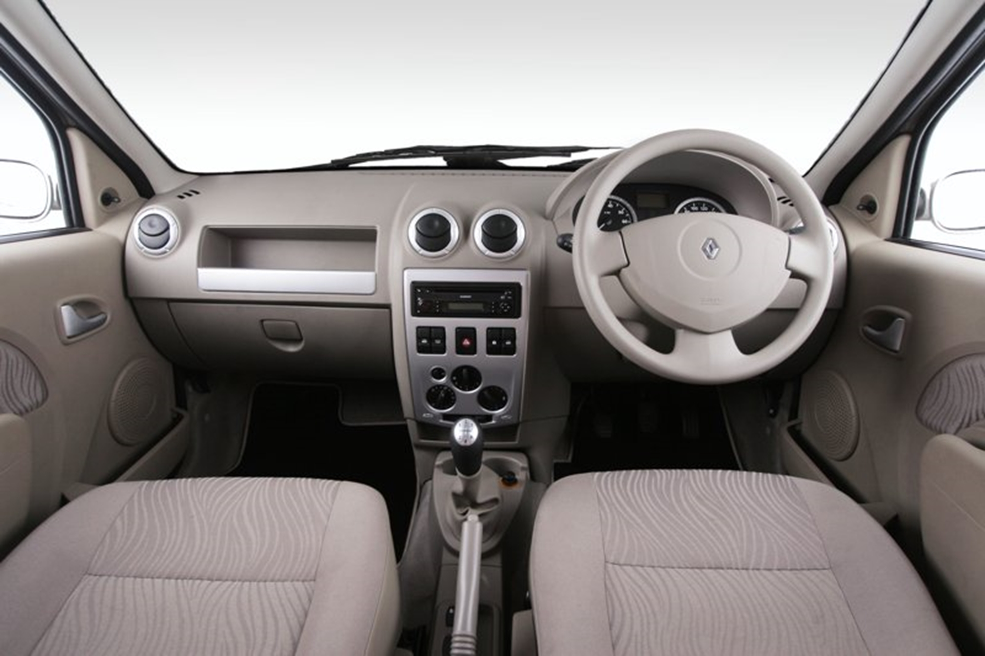 Renault Logan Dashboard Car Shows