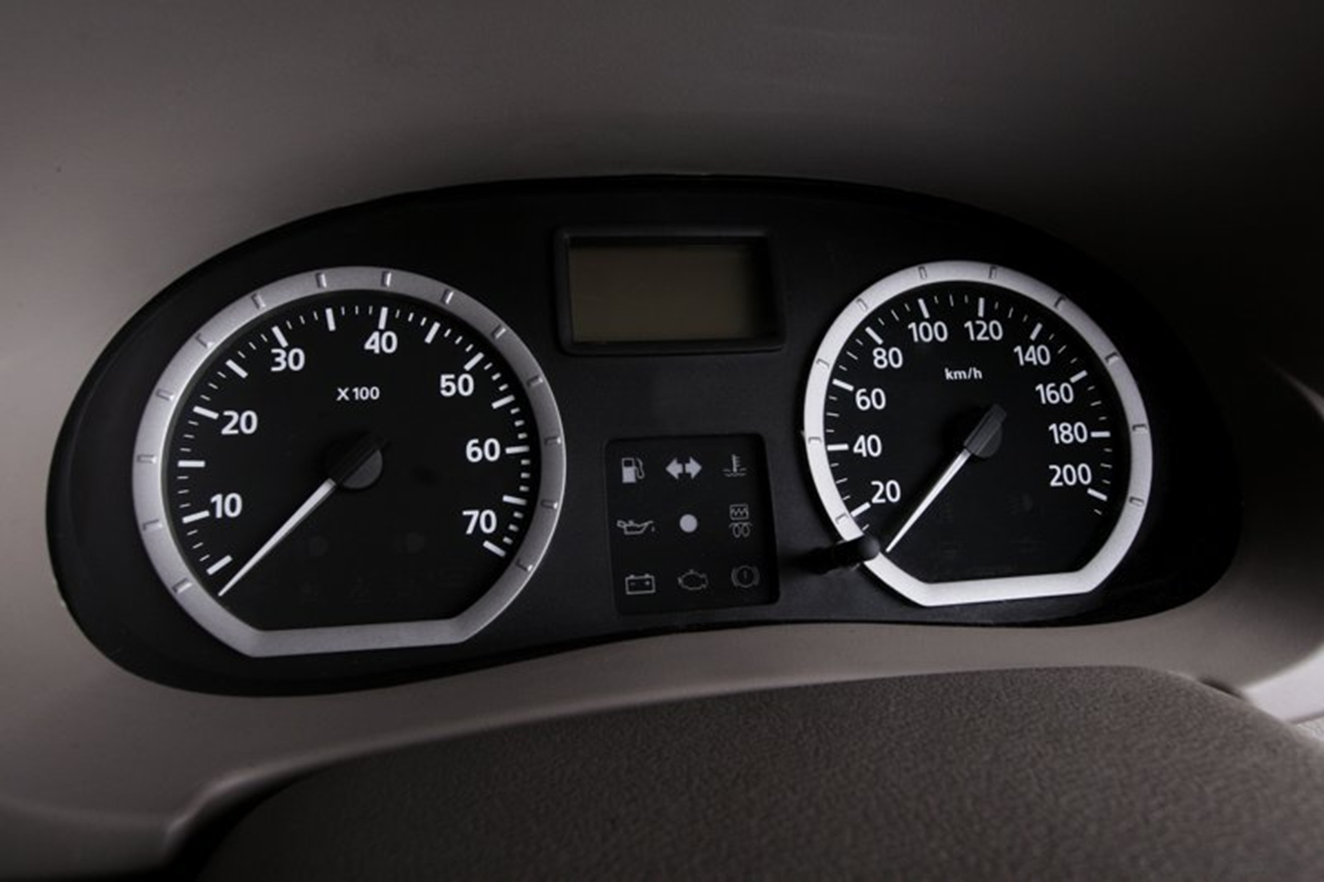 Renault Logan Dashboard