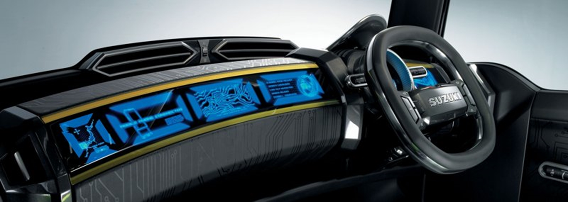 Suzuki X Head Concept Car Interior Dashboard