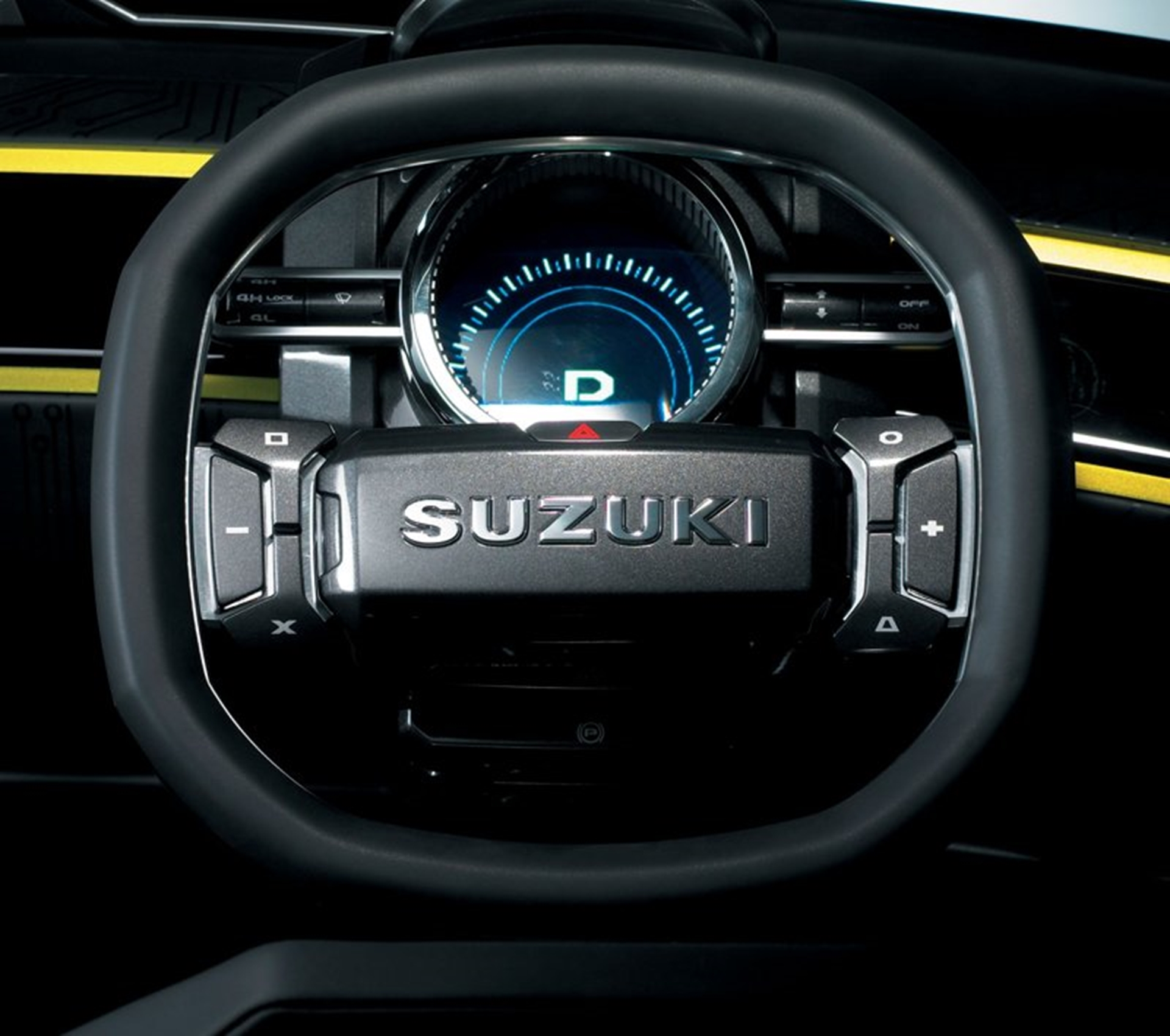 Suzuki X Head Concept Car Steering