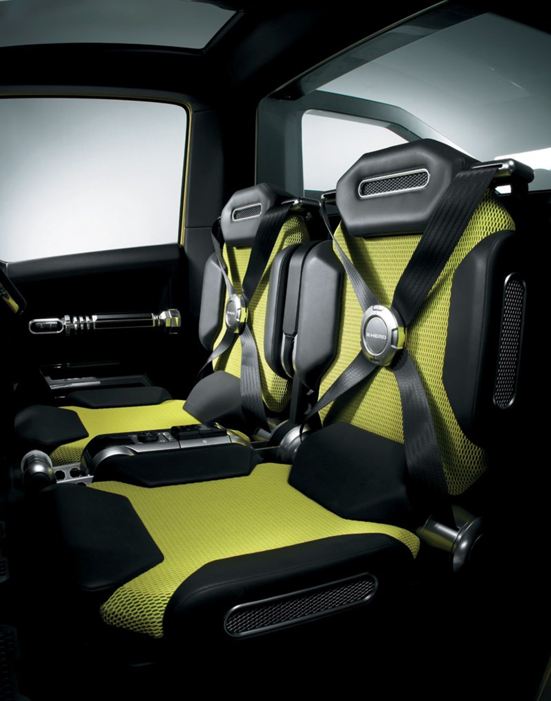 Suzuki X Head Concept Car Seats