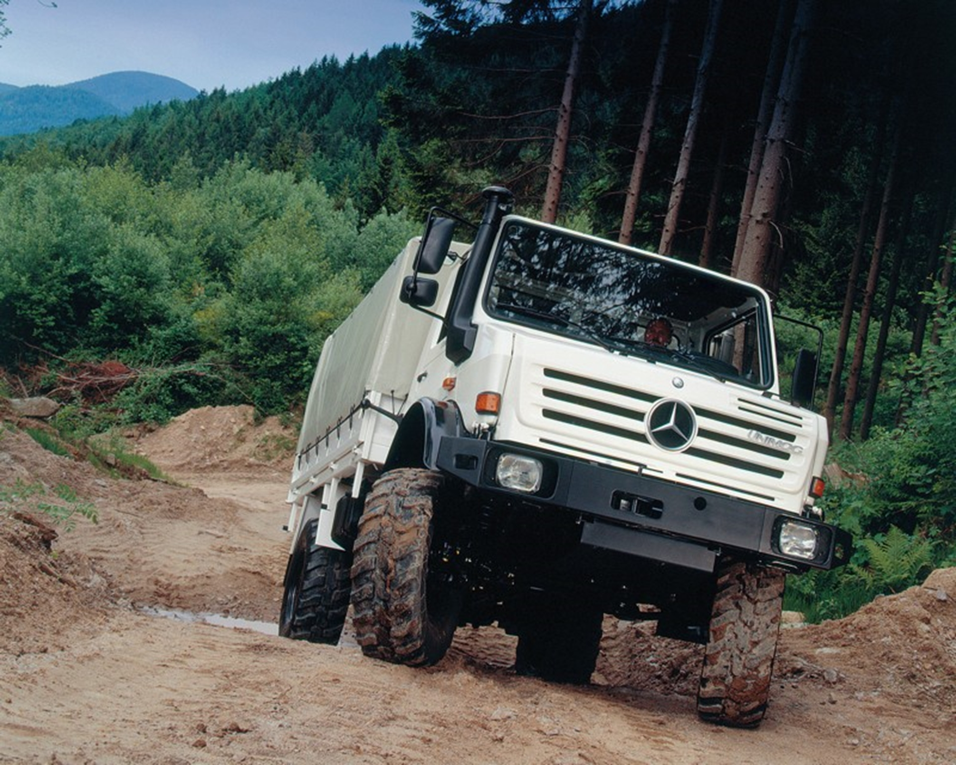 Unimog Mercedes-Benz 2008 Johannesburg Auto Shows