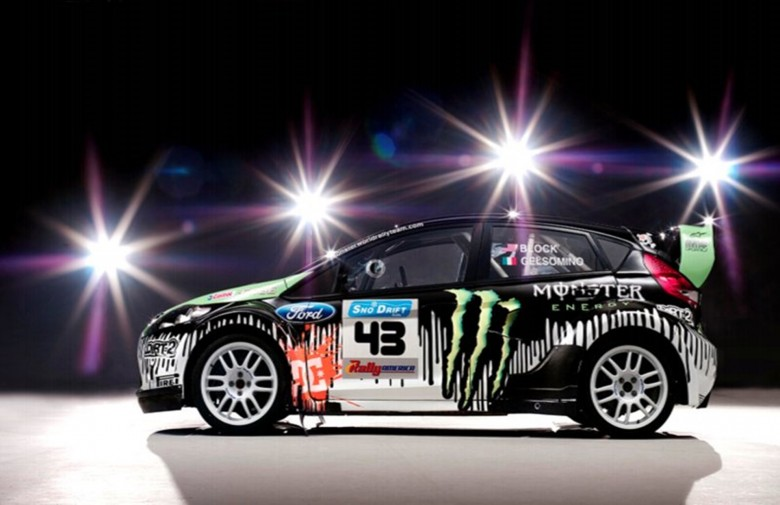 Ford Monster Rally Car
