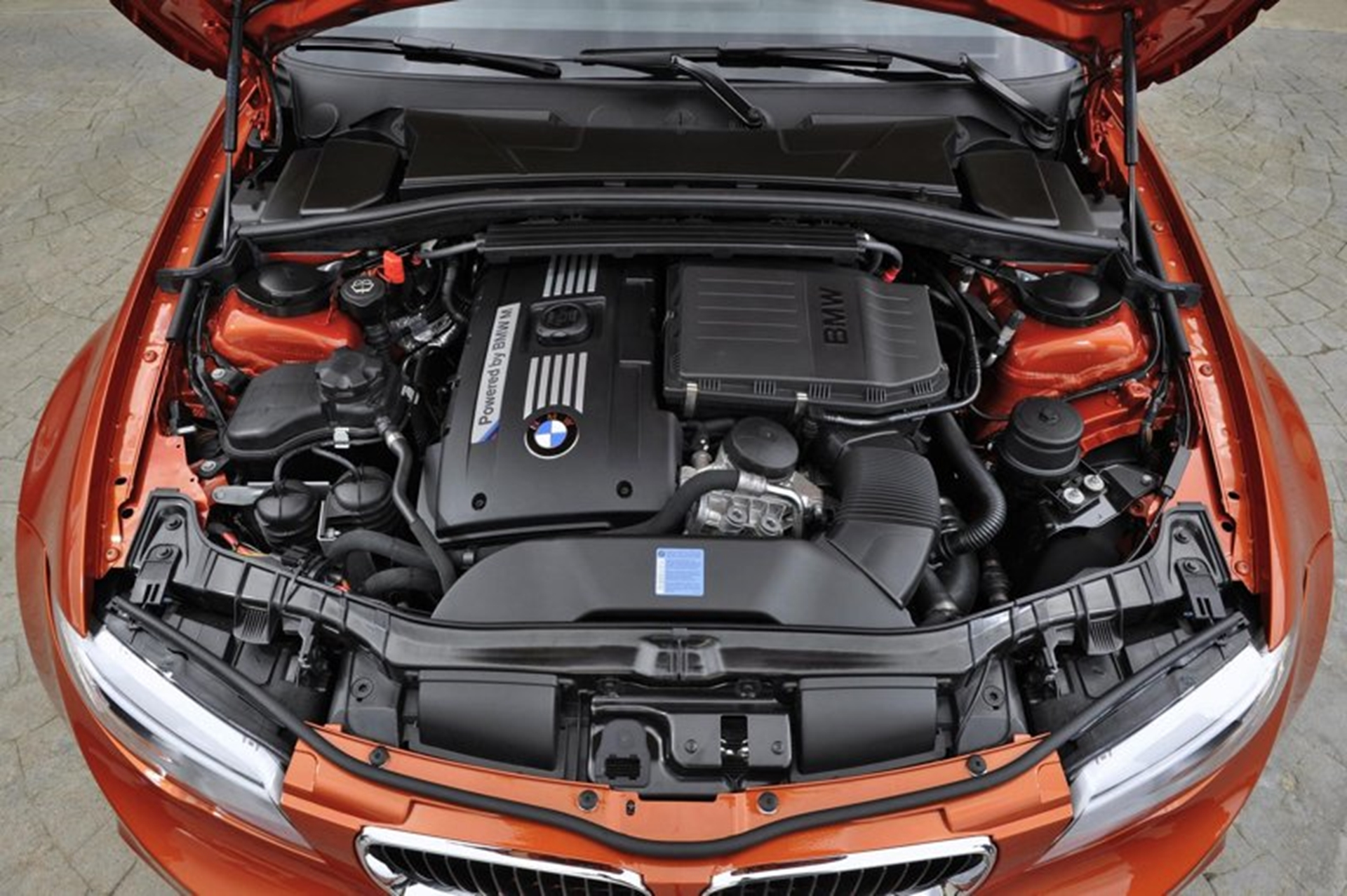 The new BMW 1 Series M Coupe Engine