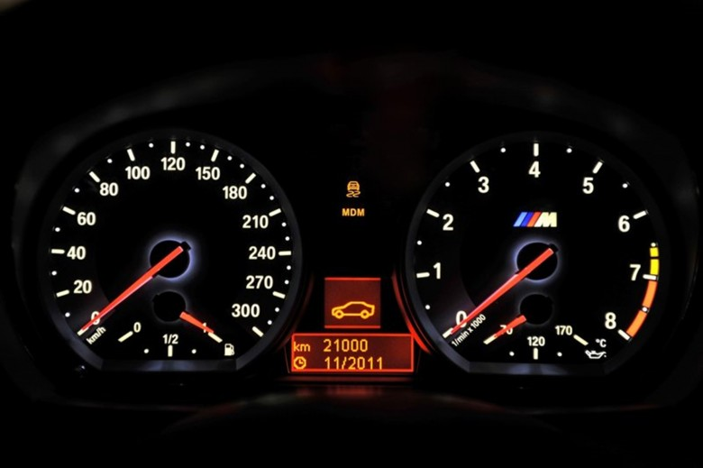 The new BMW 1 Series M Coupe Dashboard