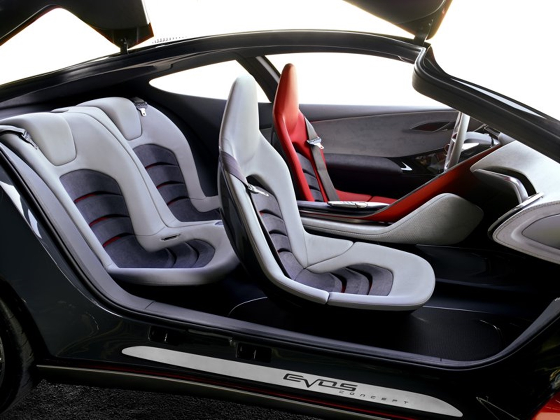 Ford Concept Cars 2011 Interior Side View