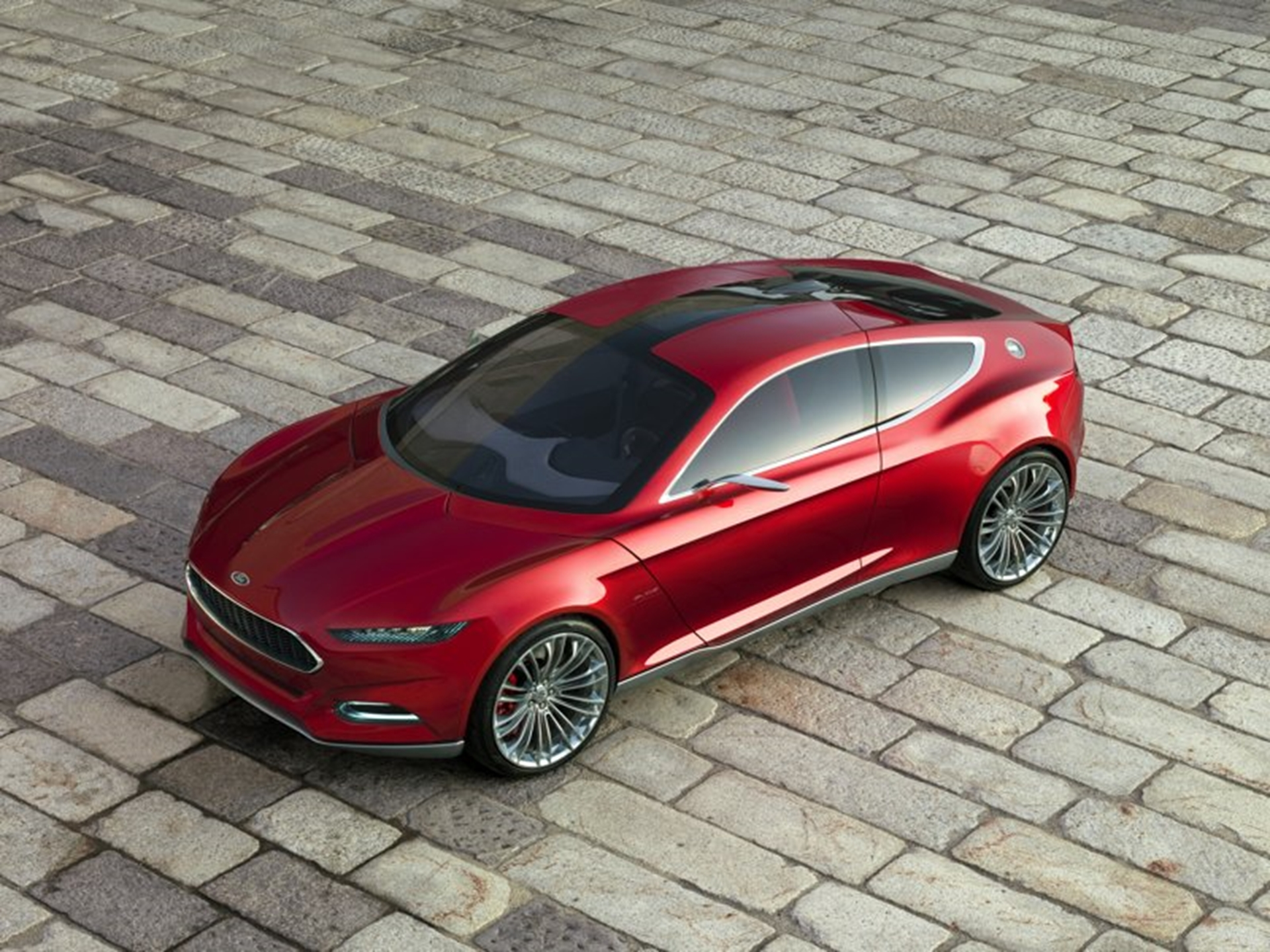 Ford Concept Car 2011 Top View