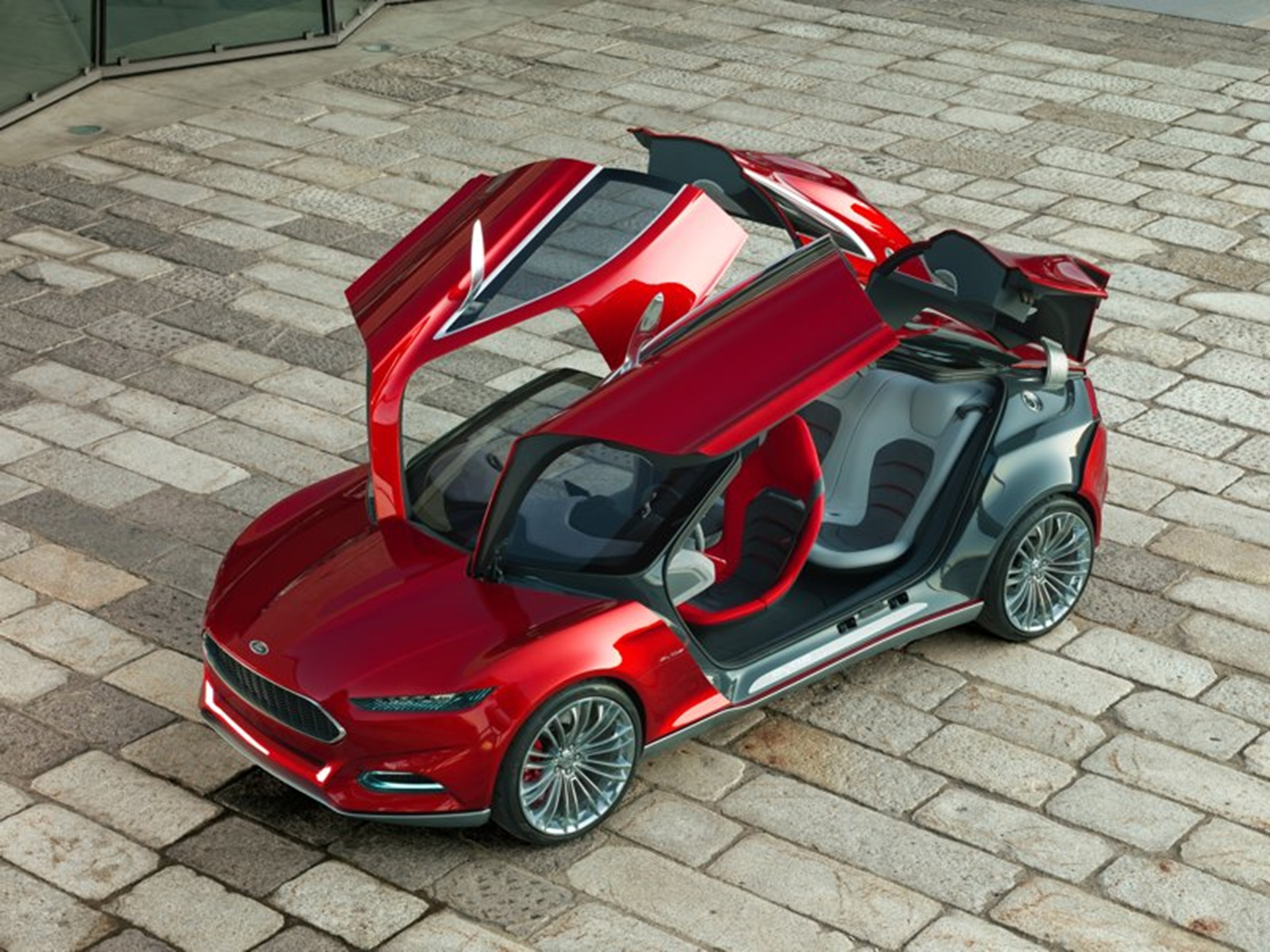 Ford Concept Cars Top View
