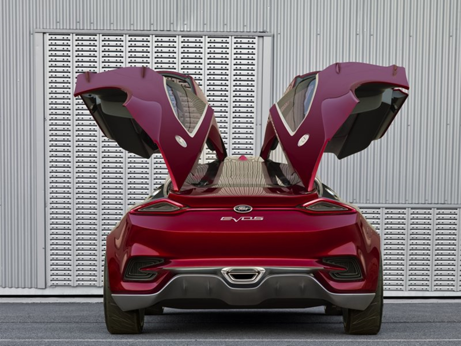 Ford Concept Cars Design 2011 Open Doors