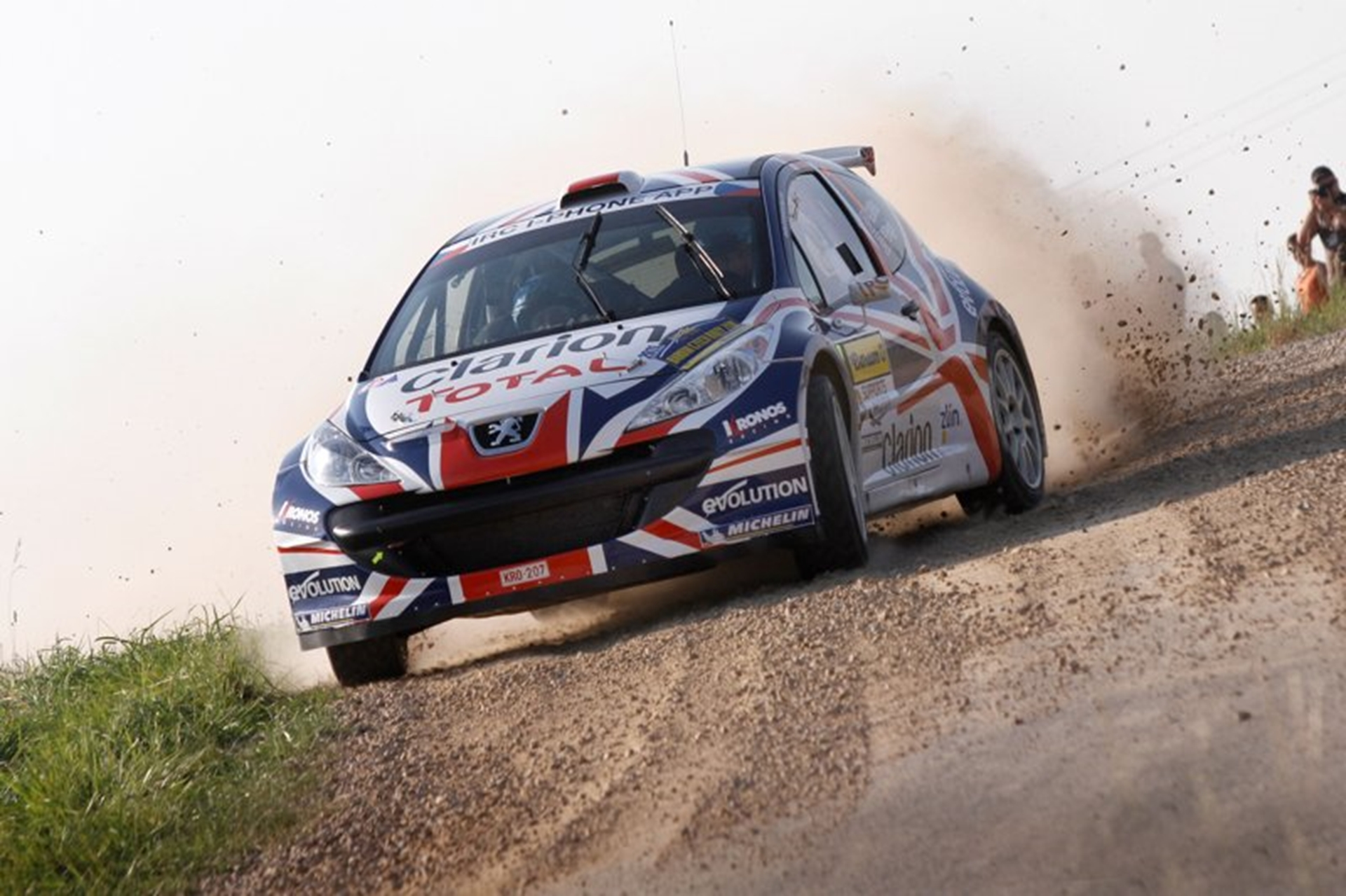 Peugeot Rally 2011 Racing Action