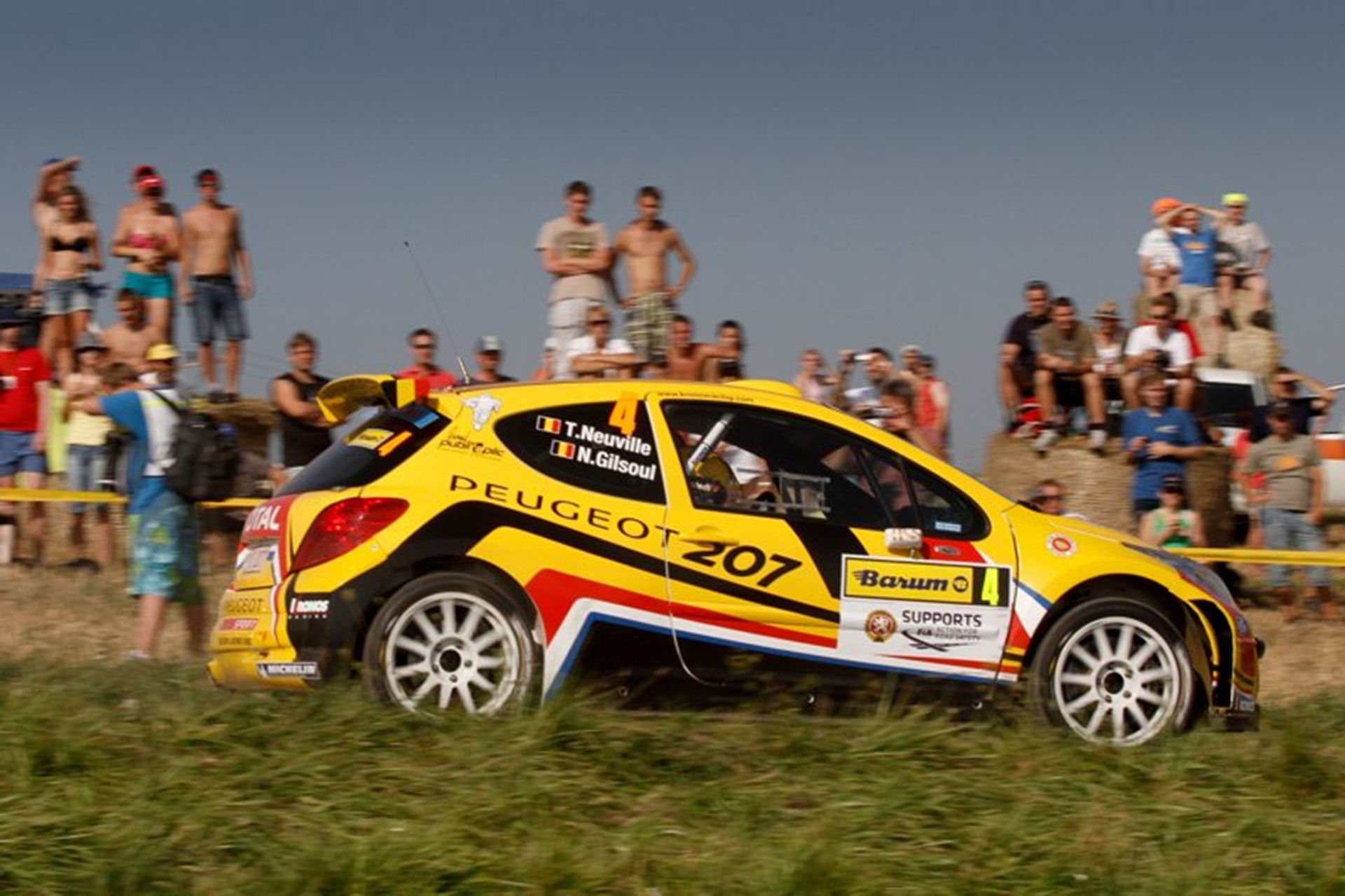 Peugeot Rally 2011 Car 207