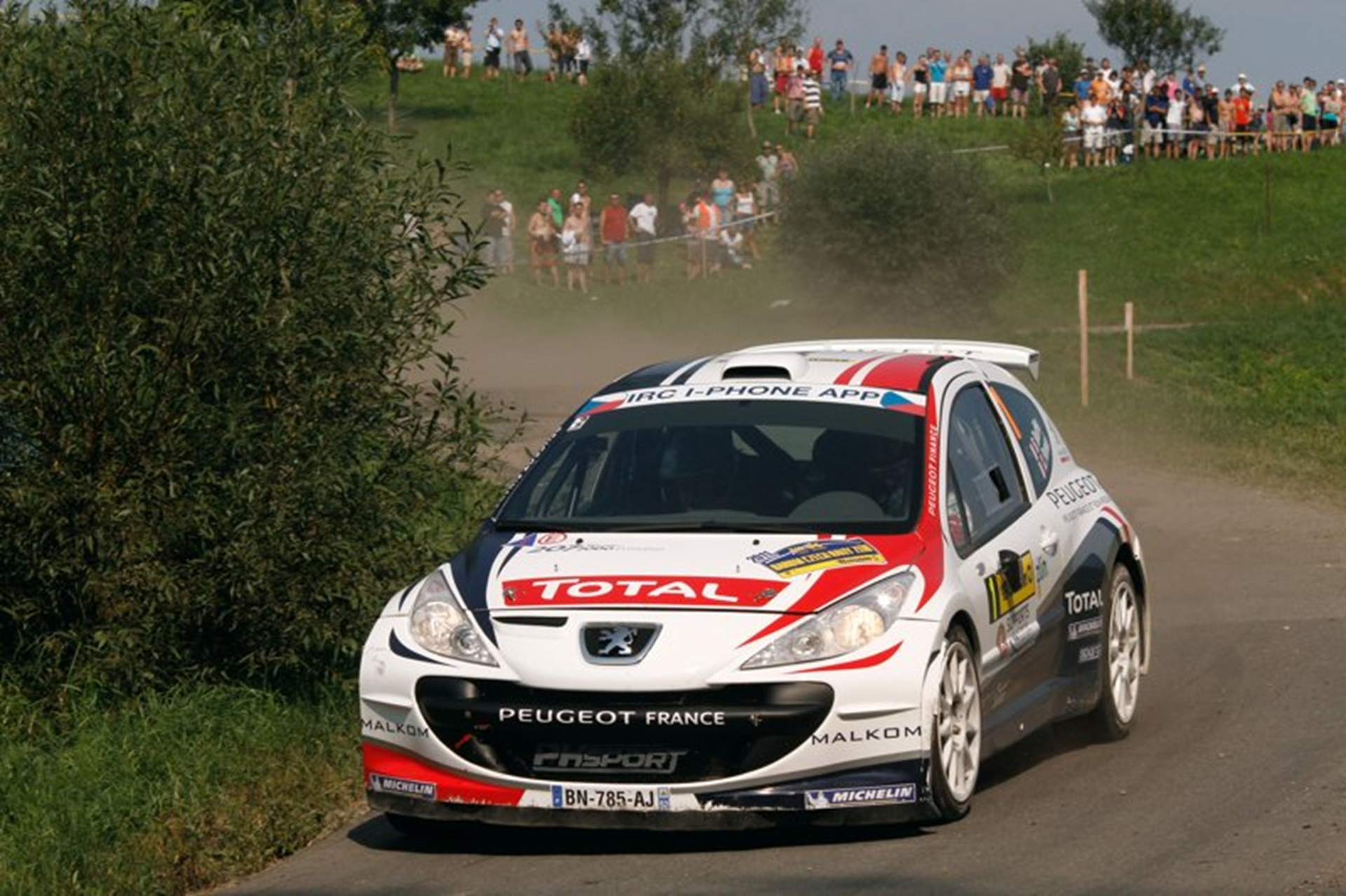 Peugeot Rally 2011 Car