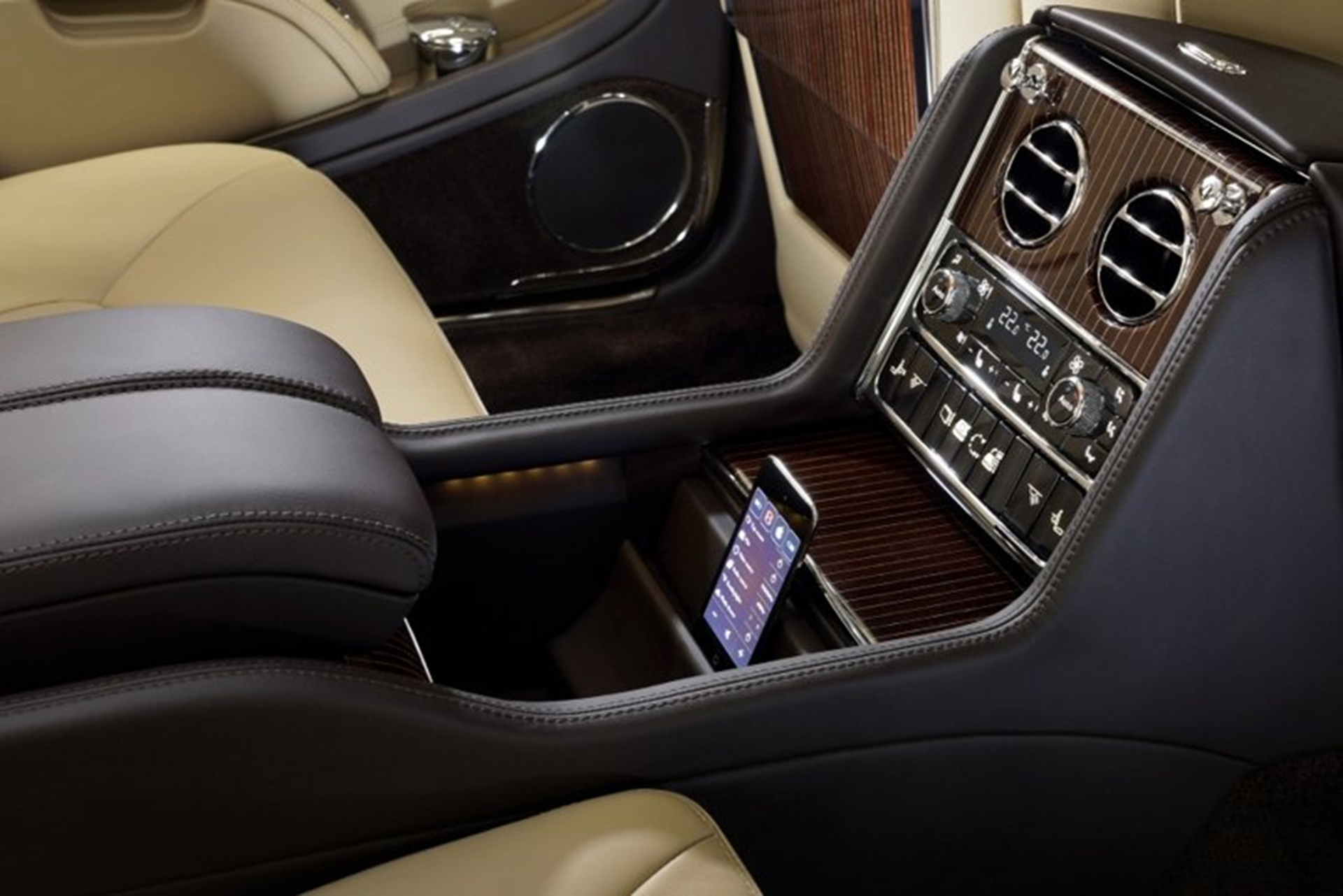 Bentley Rear Console