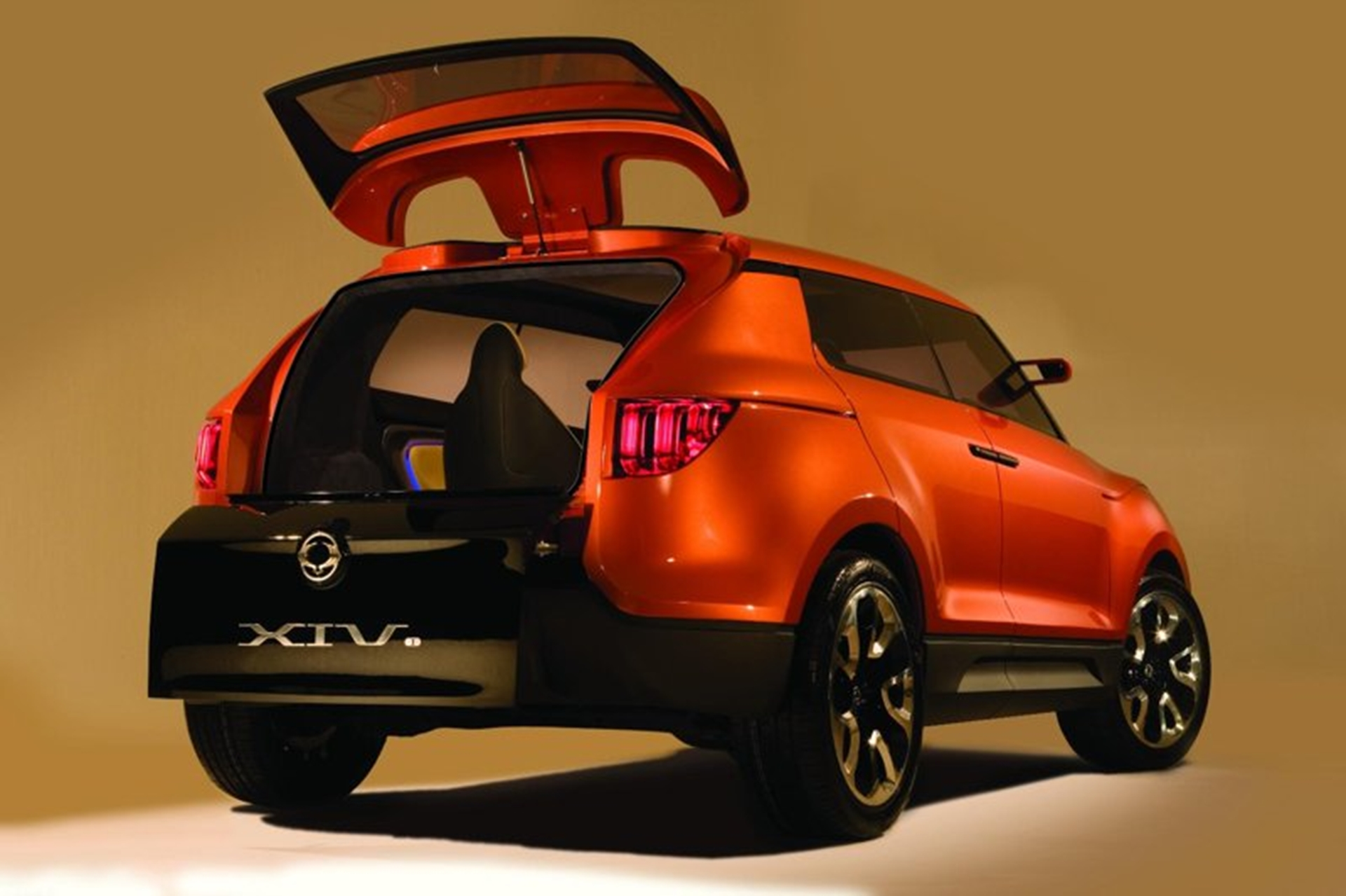 Ssangyong Back View
