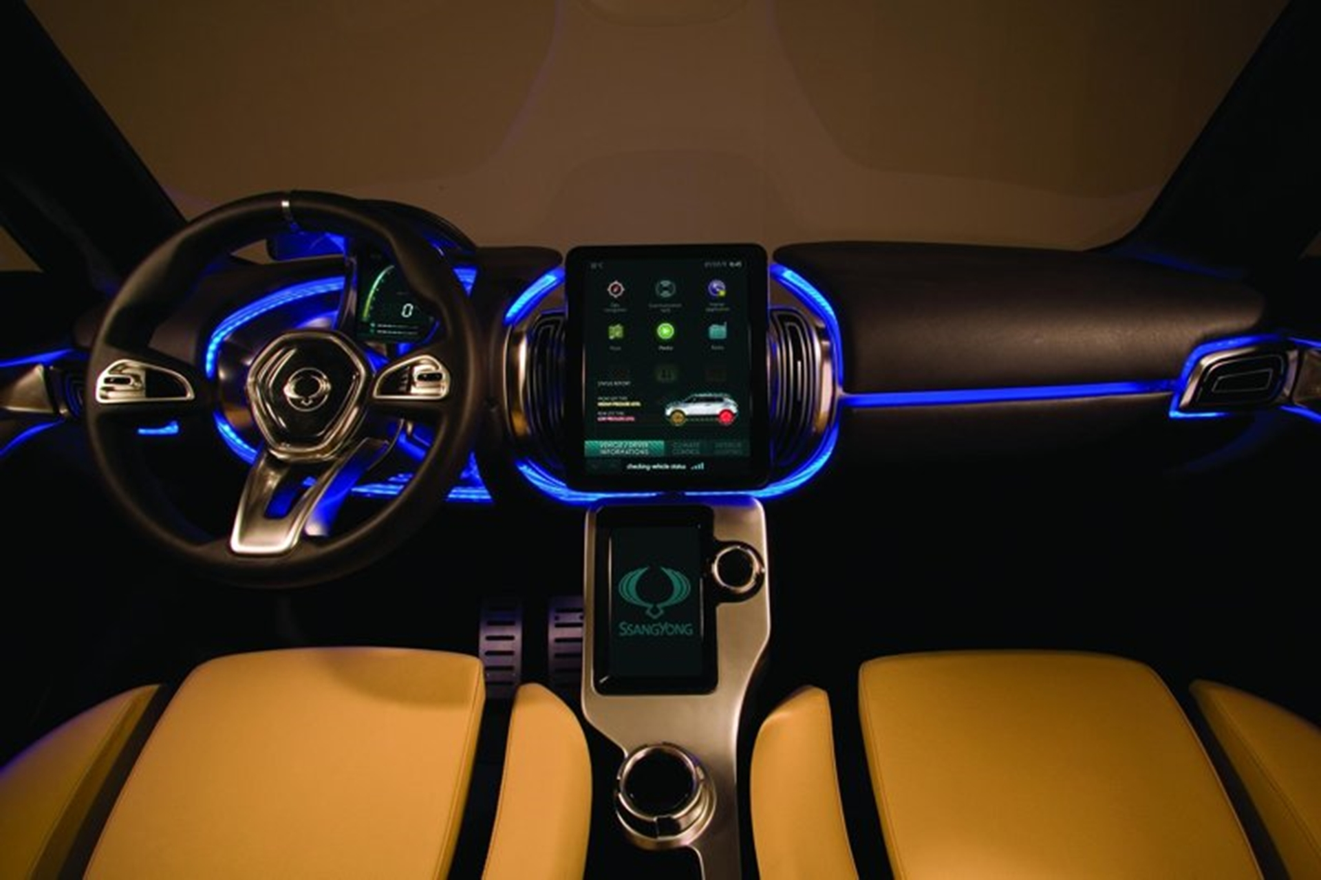 Ssangyong Drivers Seat