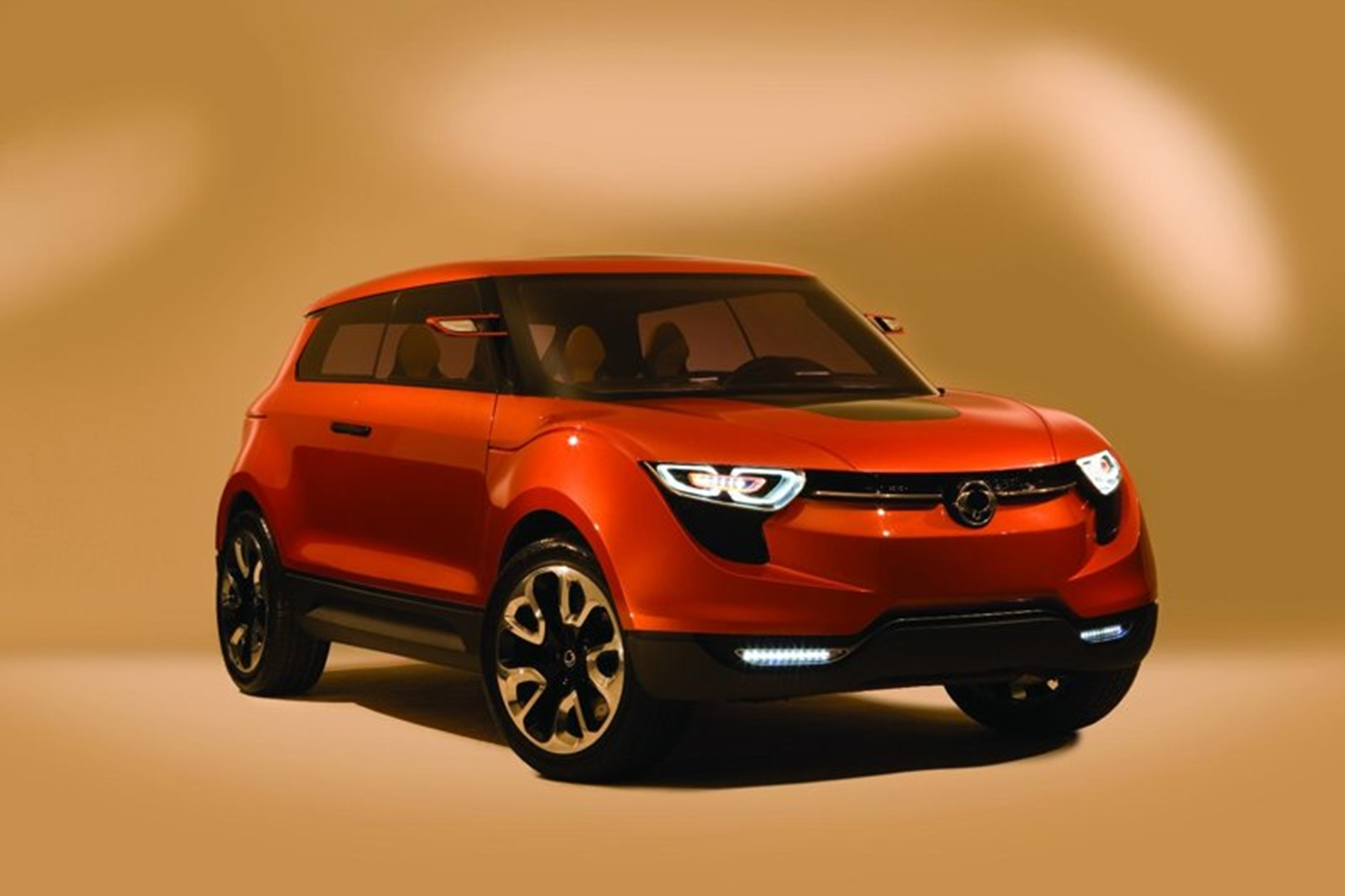Ssangyong Front View