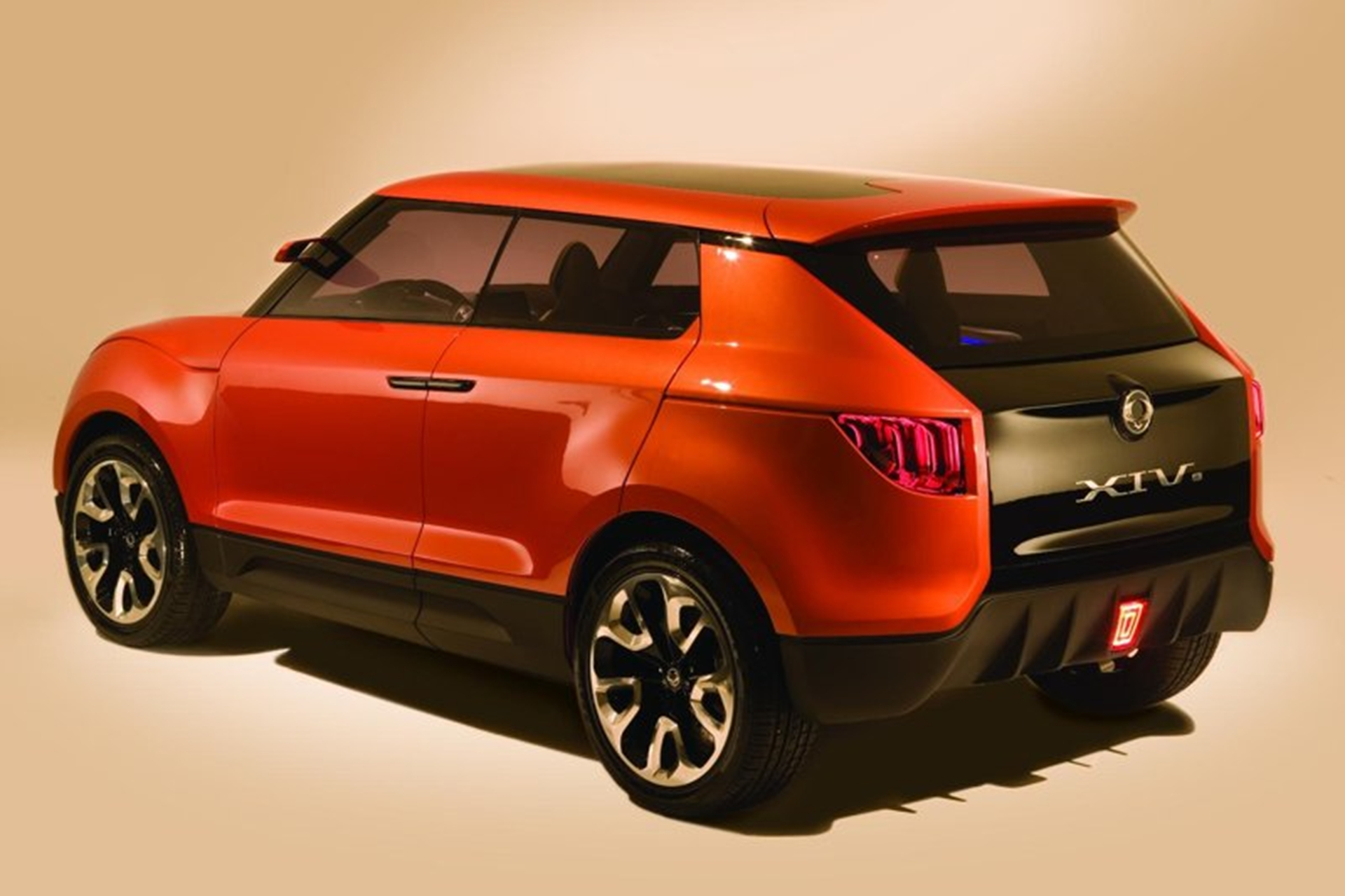 Ssangyong Side Back View