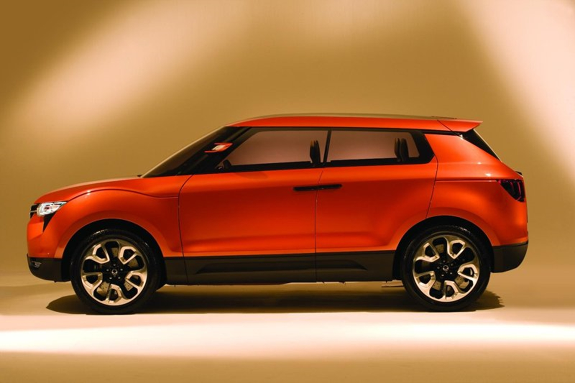 Ssangyong Side View