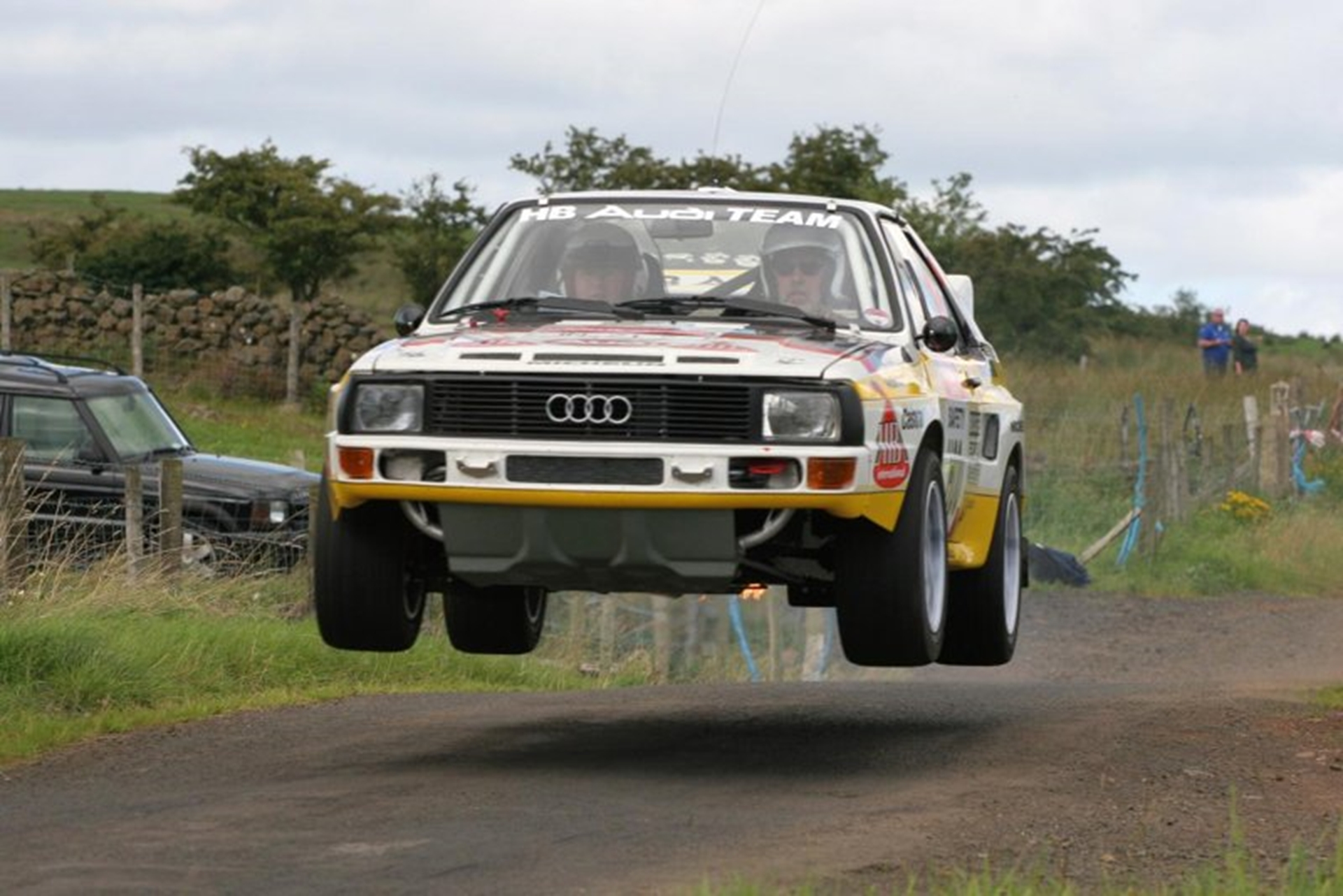 FIRE UP THE QUATTRO! GROUP B RALLY CARS TAKE TO THE TOP GEAR LIVE TRACK