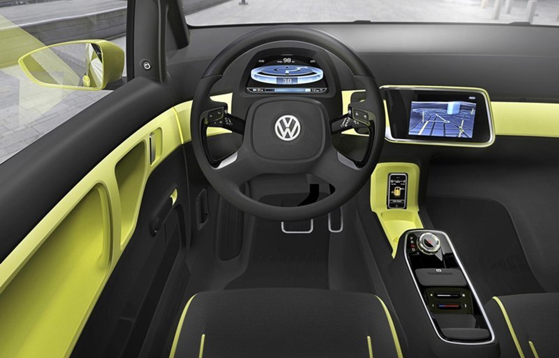 E UP Buggy Volkswagen Concept Car