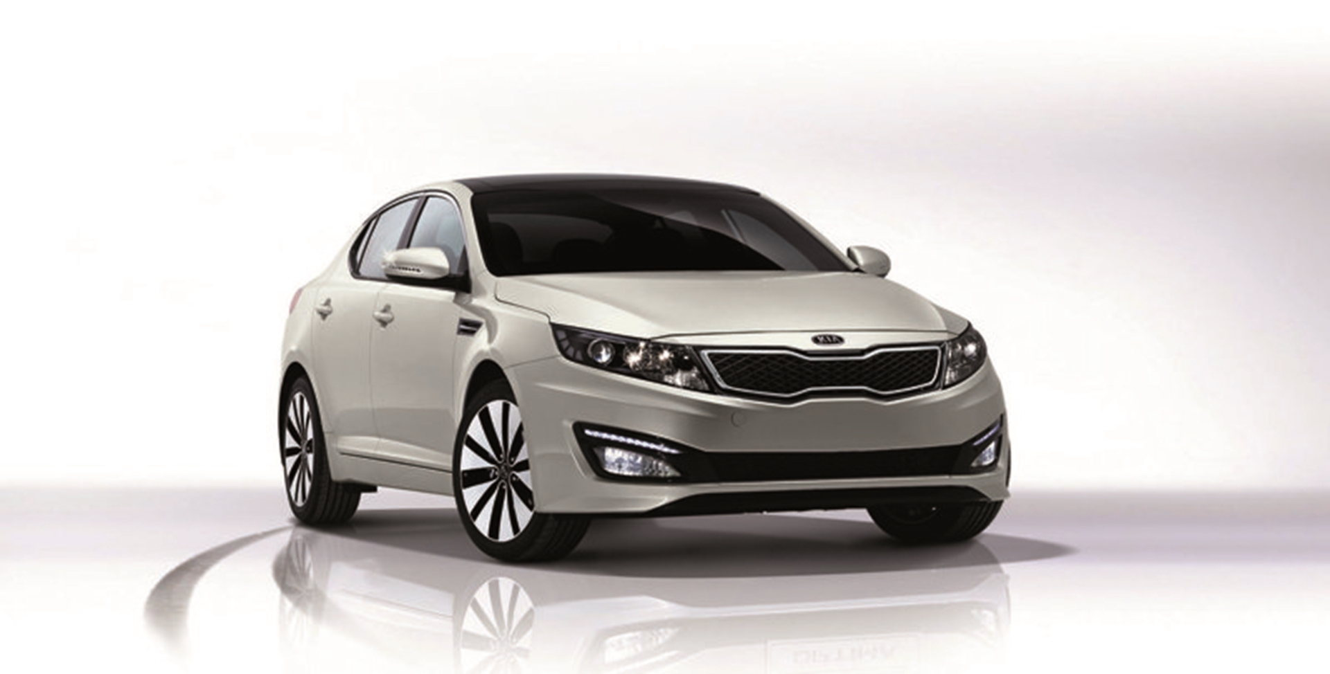 KIA Front View Optima