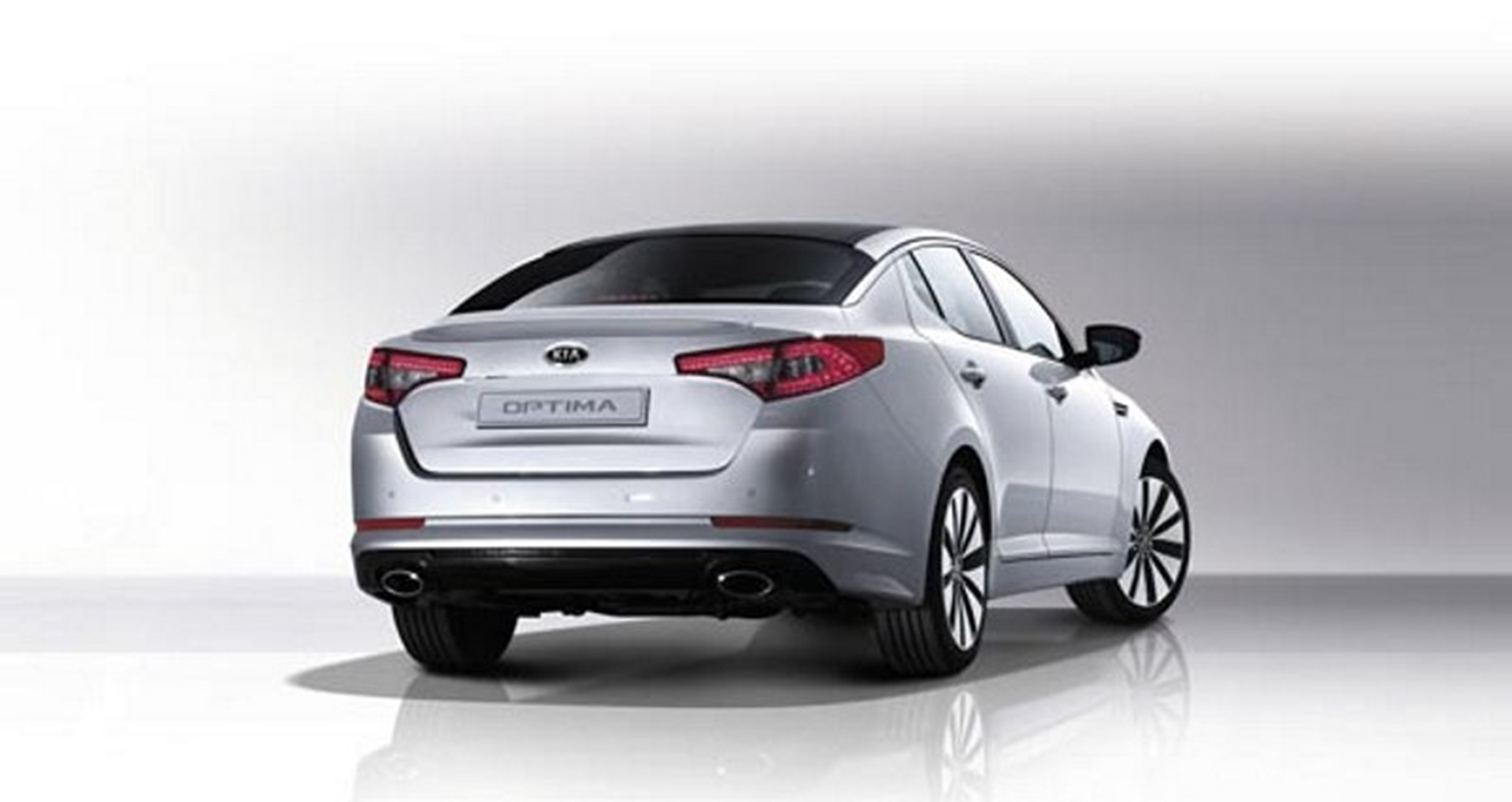 KIA Rear View Optima