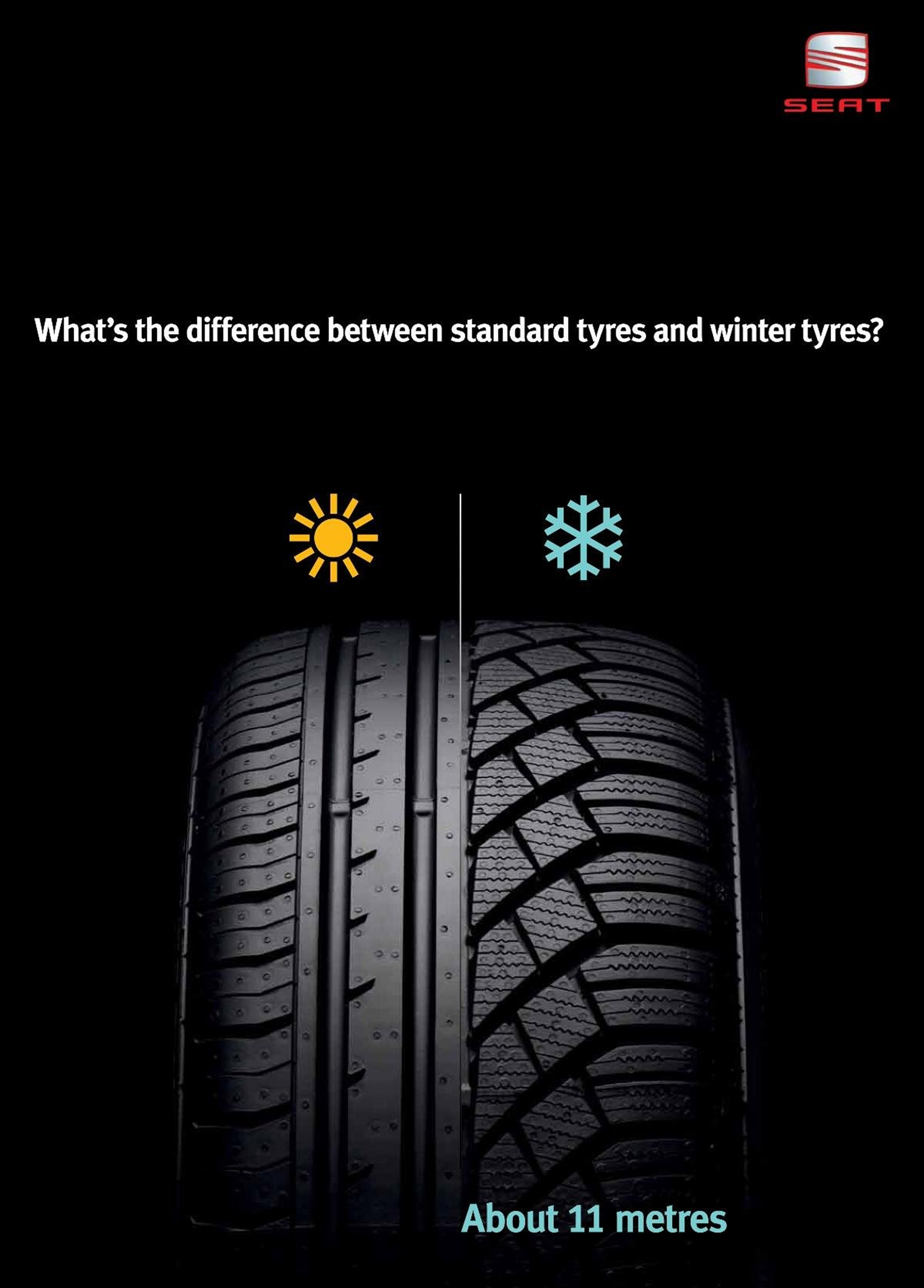 SEAT Winter Campaign Tyres