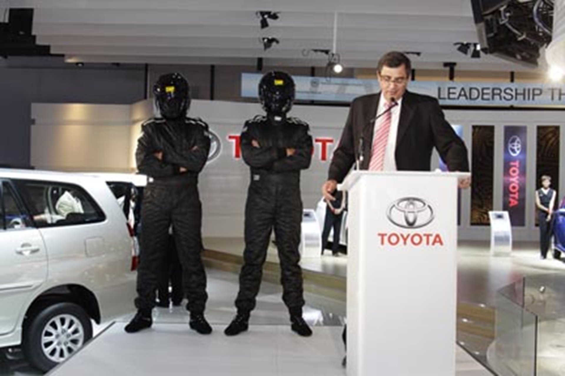 Toyota at Johannesburg Motor Show
