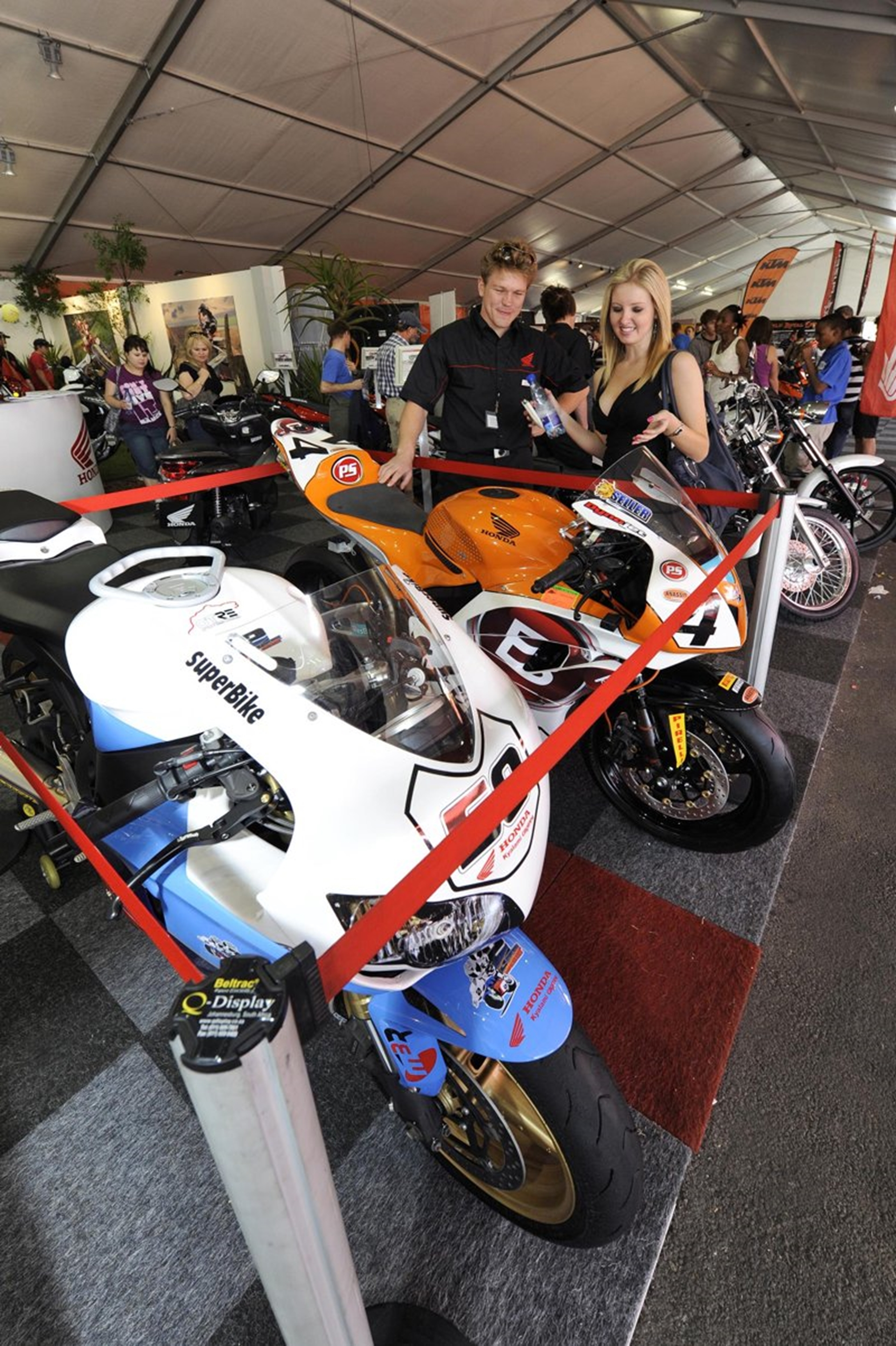 Motorcycles at the Johannesburg Motor Show 2011