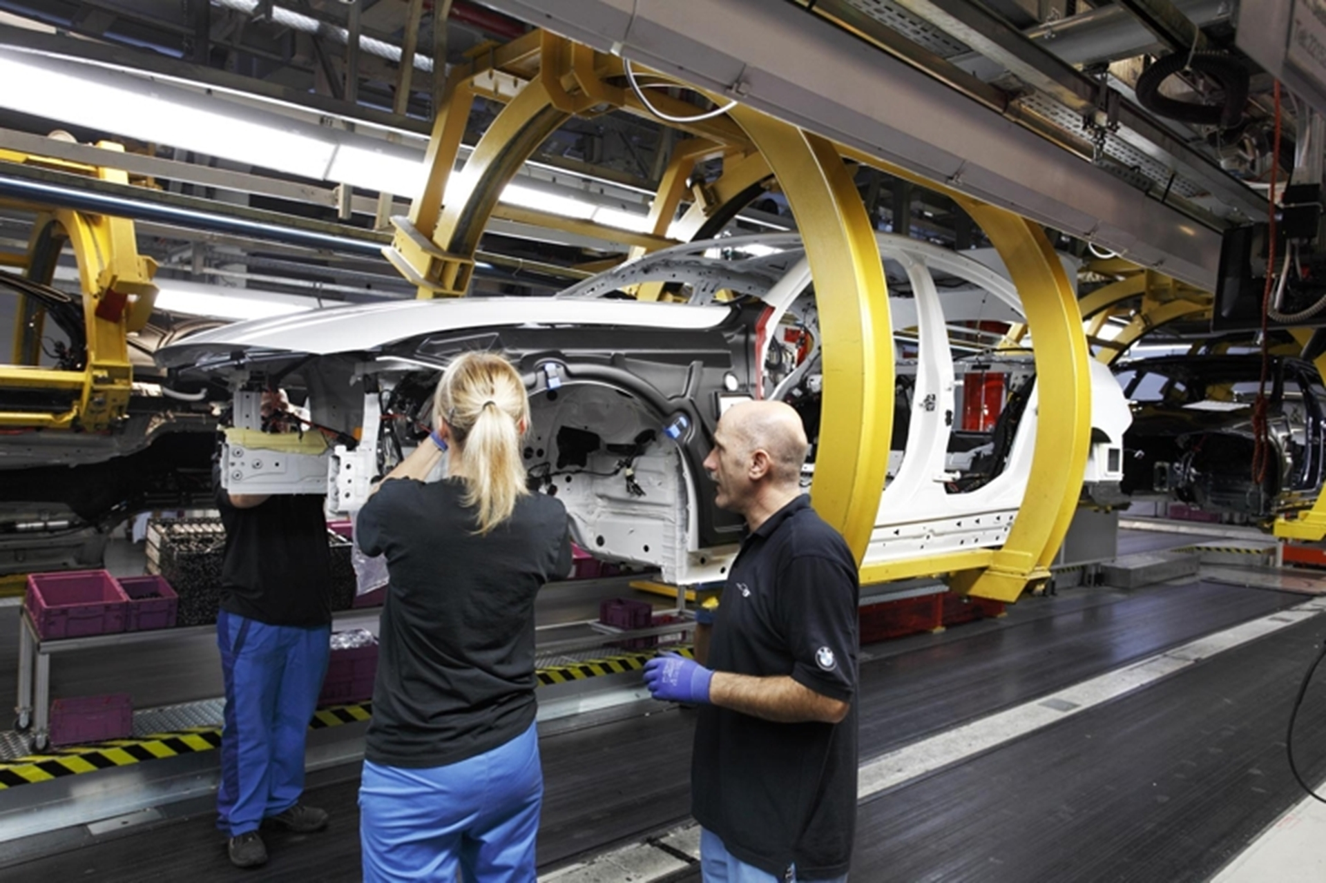 BMW 3 Series Production 2011 Germany