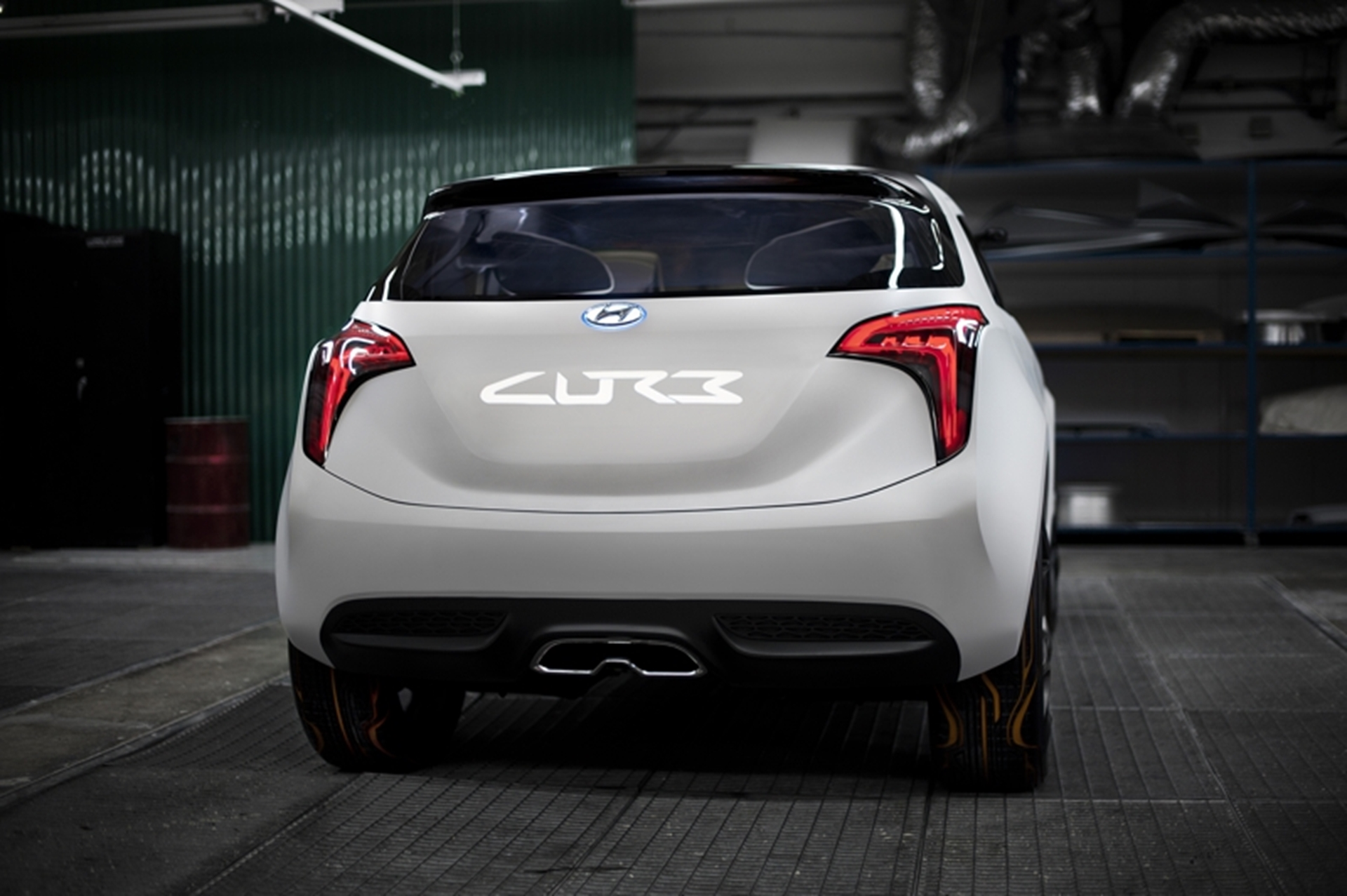 Hyundai Curb Concept Rear