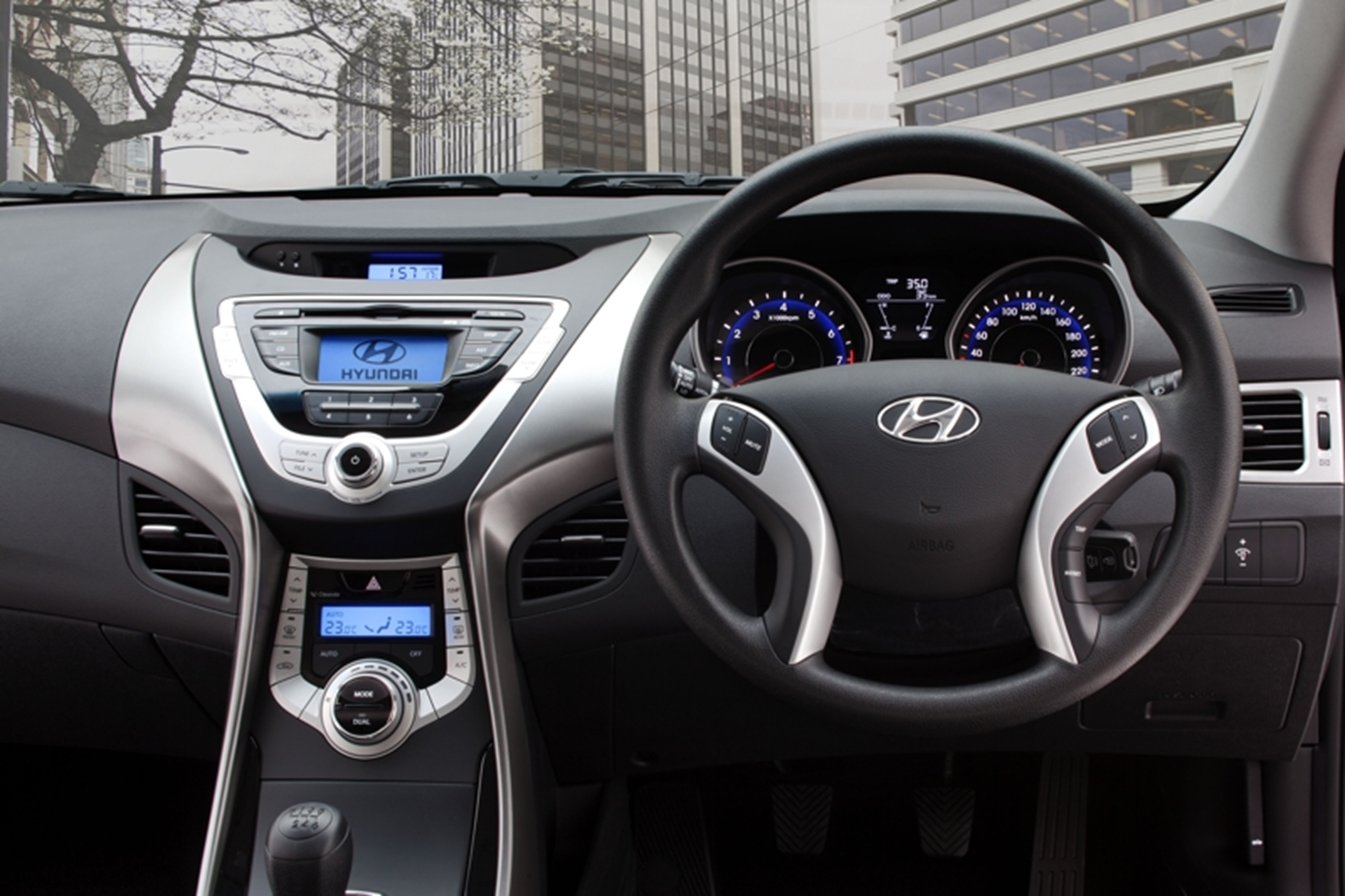 Hyundai Instruments Panel Elantra