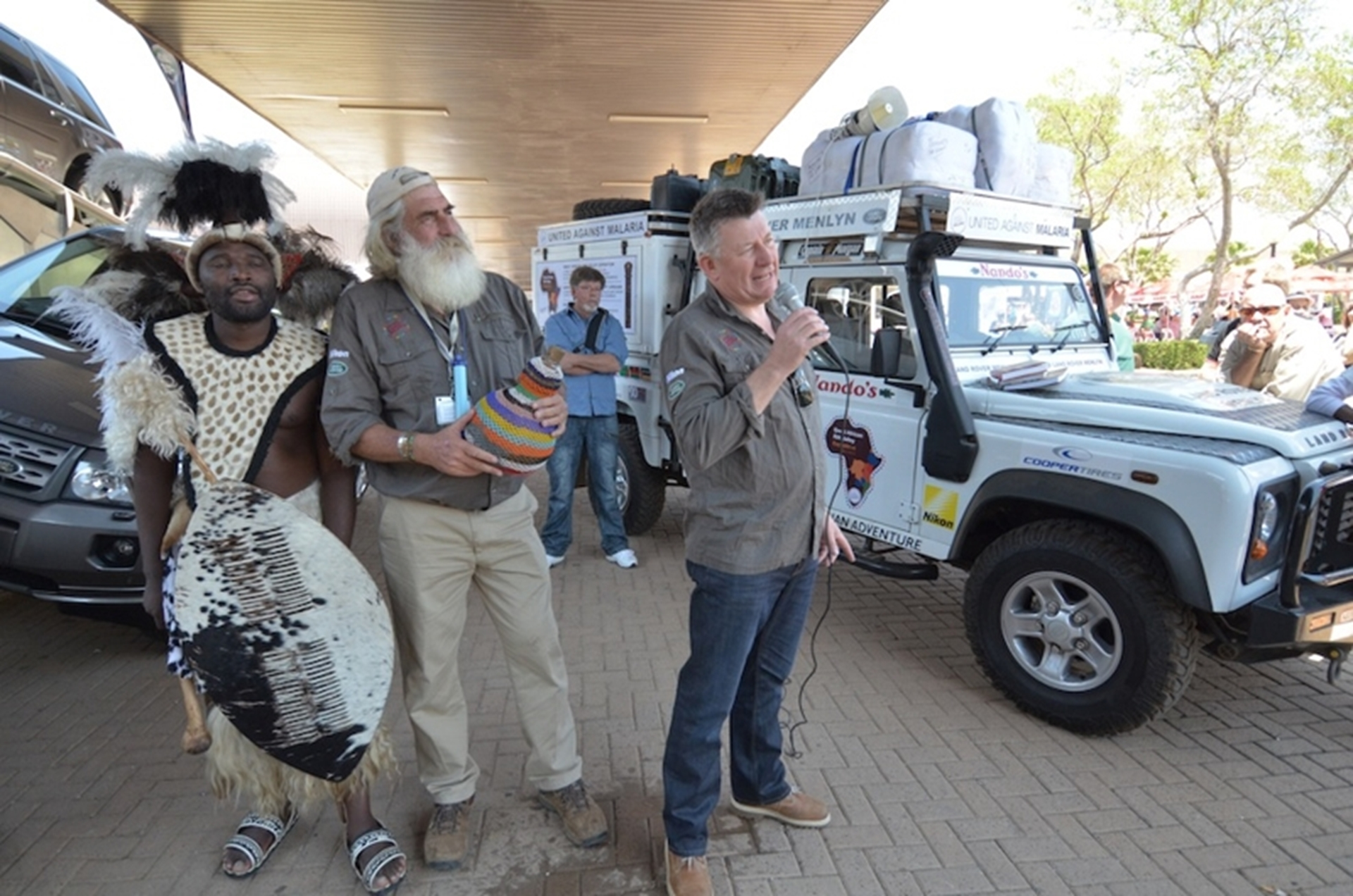 Land Rover Expedition Africa Start