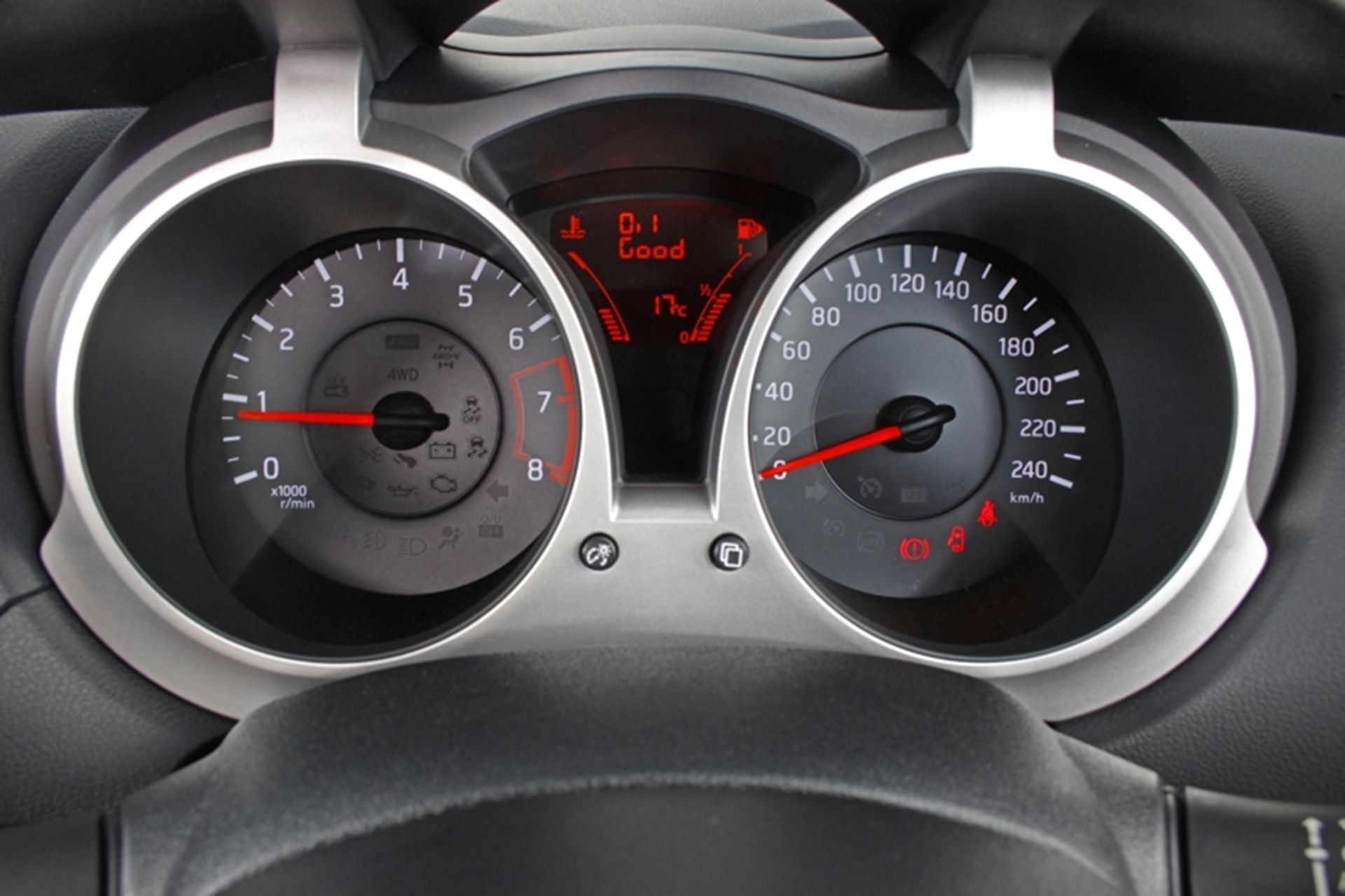 New Nissan Juke Speedo