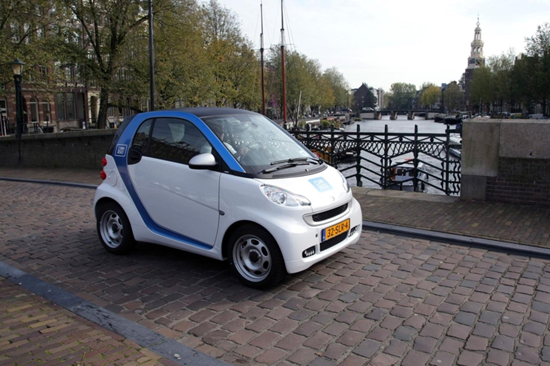 Smart car2go Amsterdam