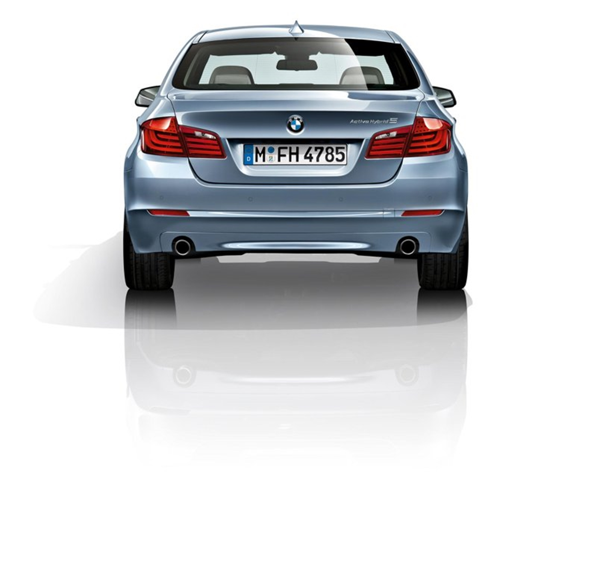 BMW Hybrid Rear View Back