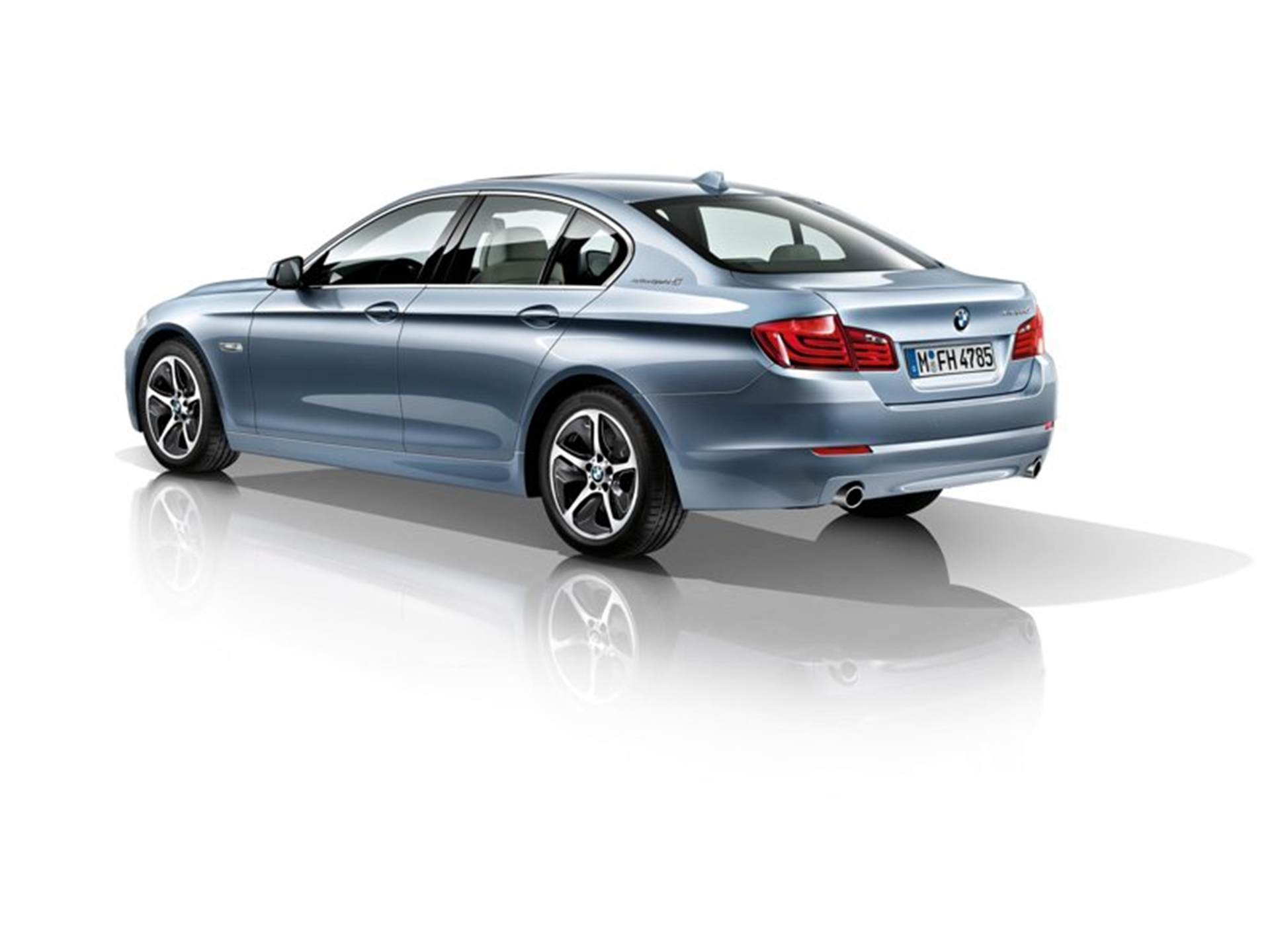 BMW Hybrid Rear View