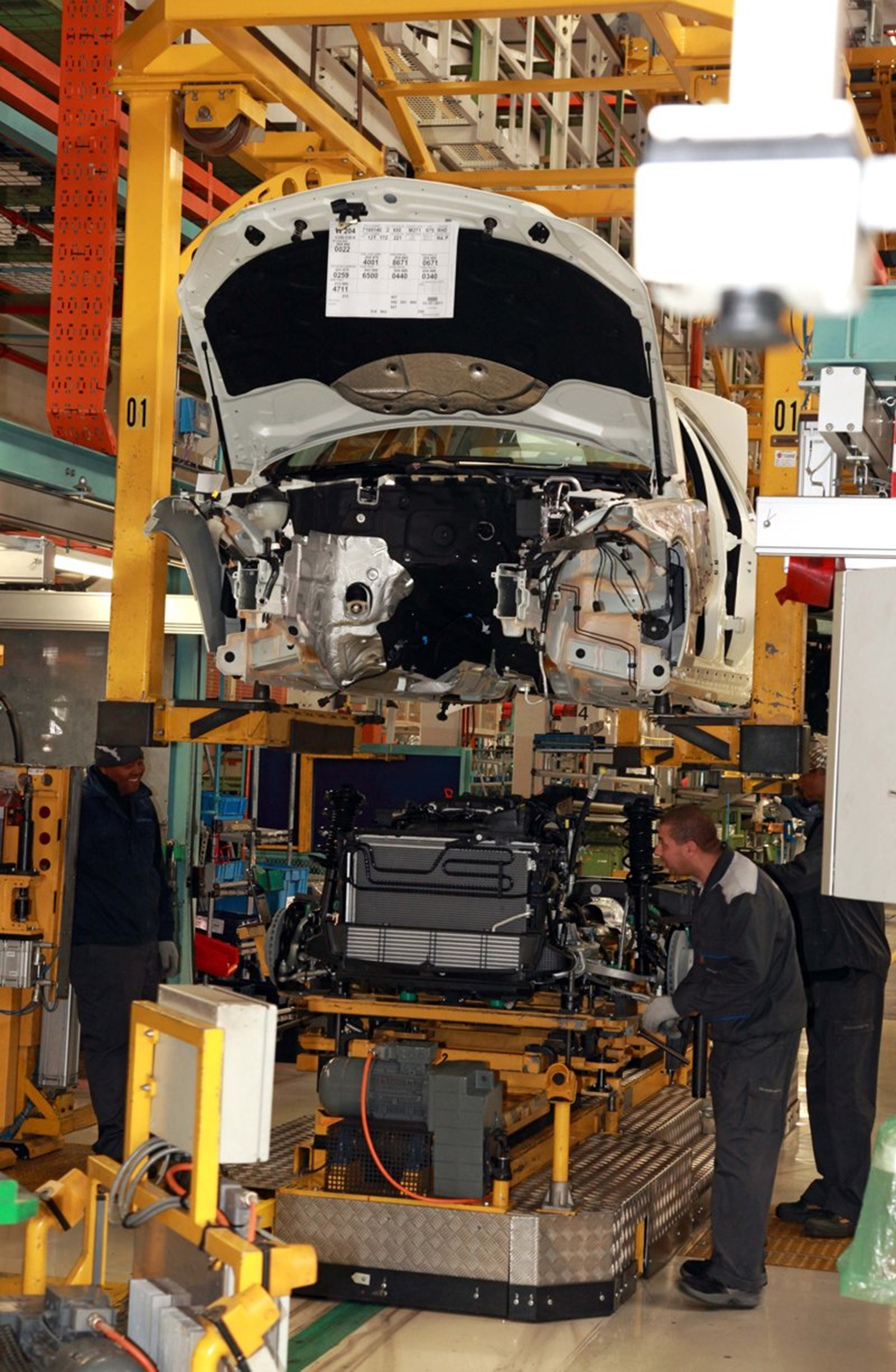 Mercedes Benz South Africa Plant 2011