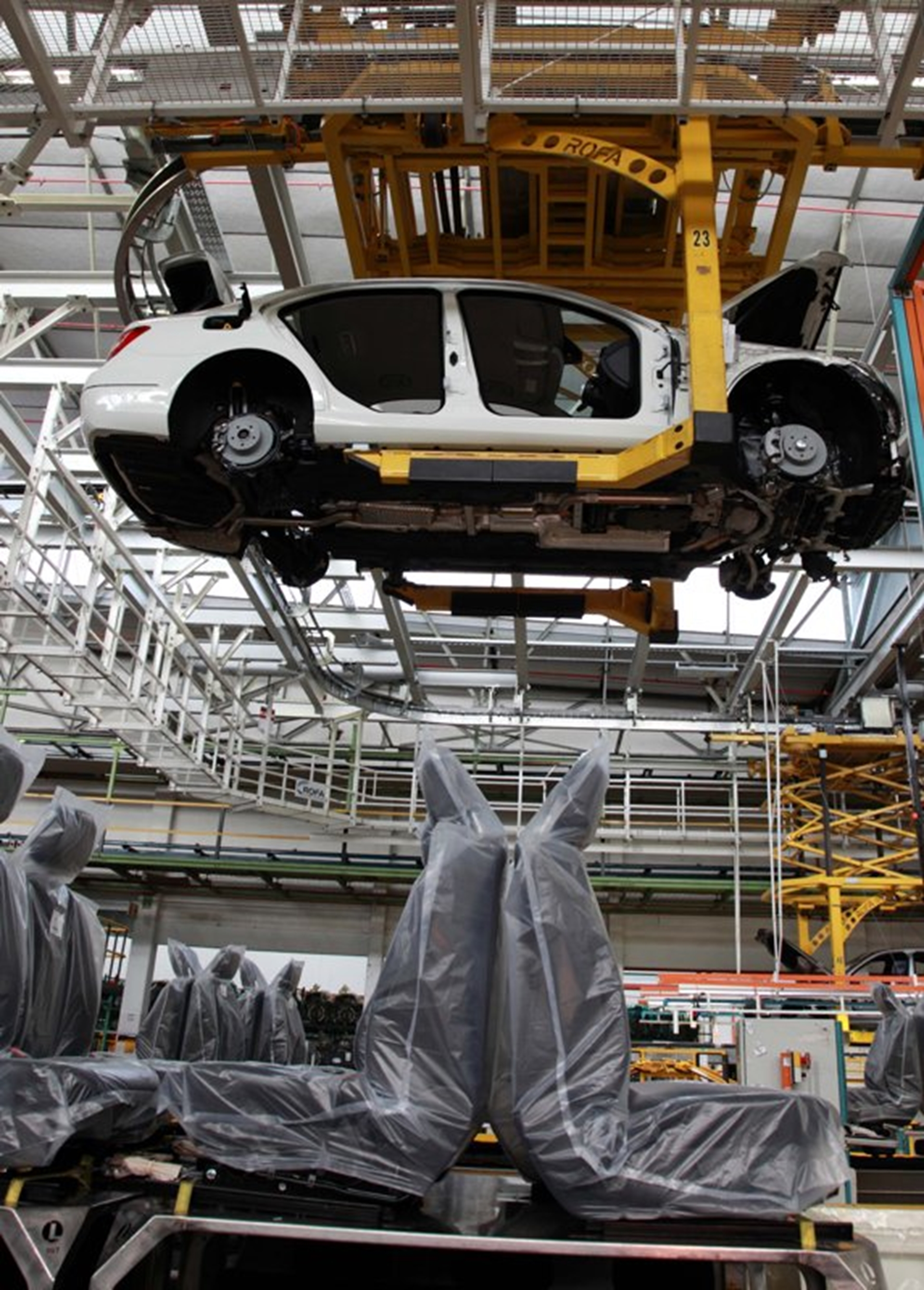 Mercedes Benz South Africa Plant