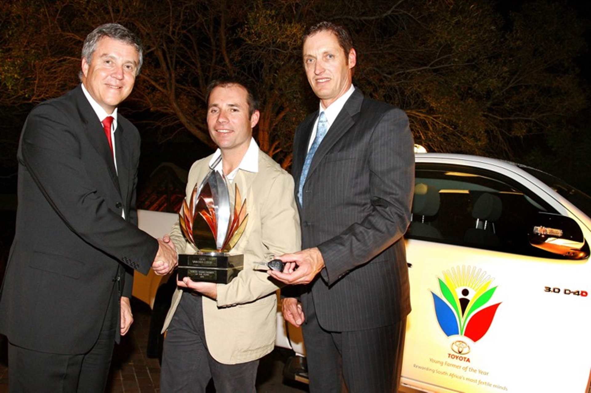 OUTSTANDING YOUNG FARMER REWARDED WITH BRAND NEW HILUX