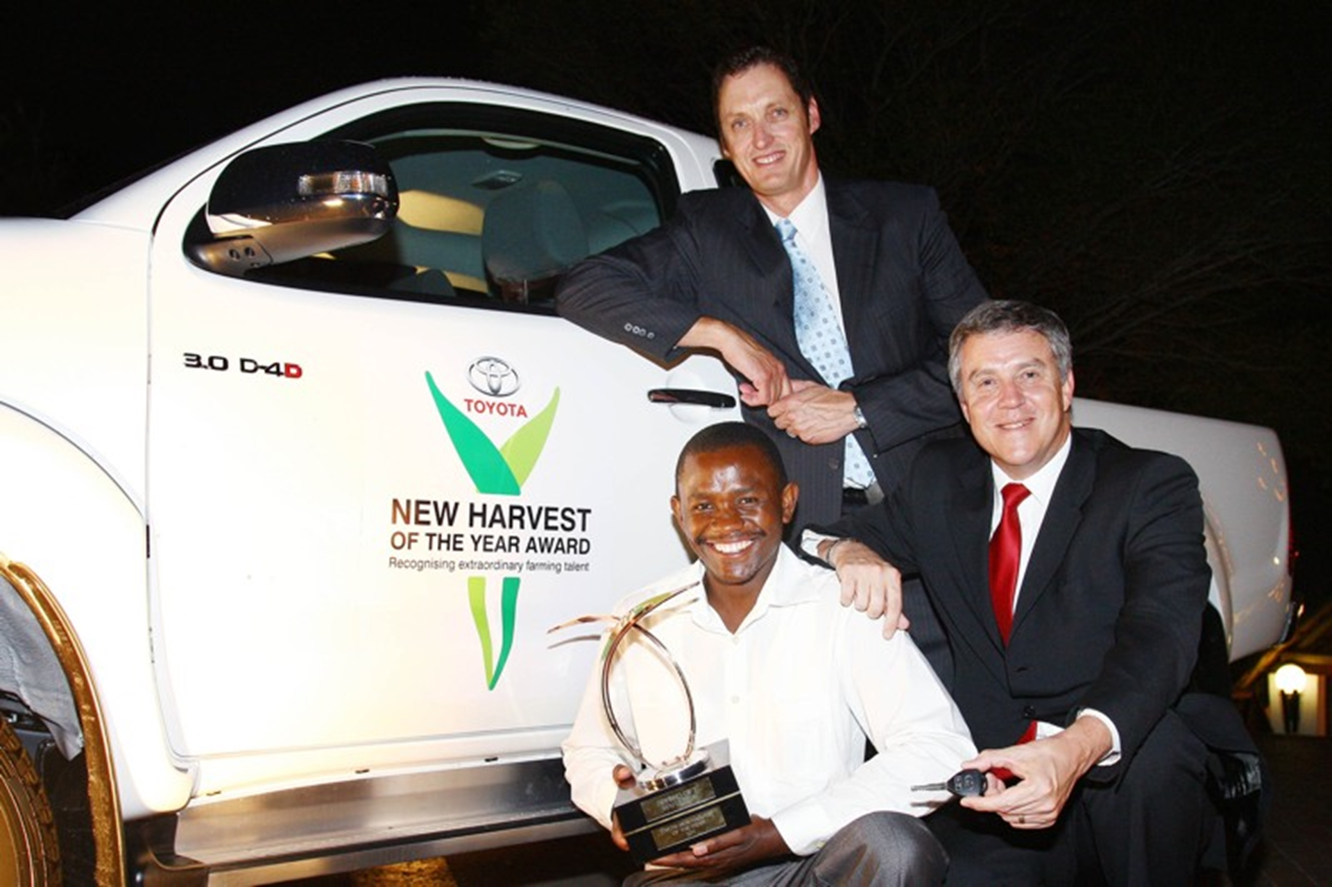 HARD WORKING GIFT REWARDED WITH TOYOTA HILUX