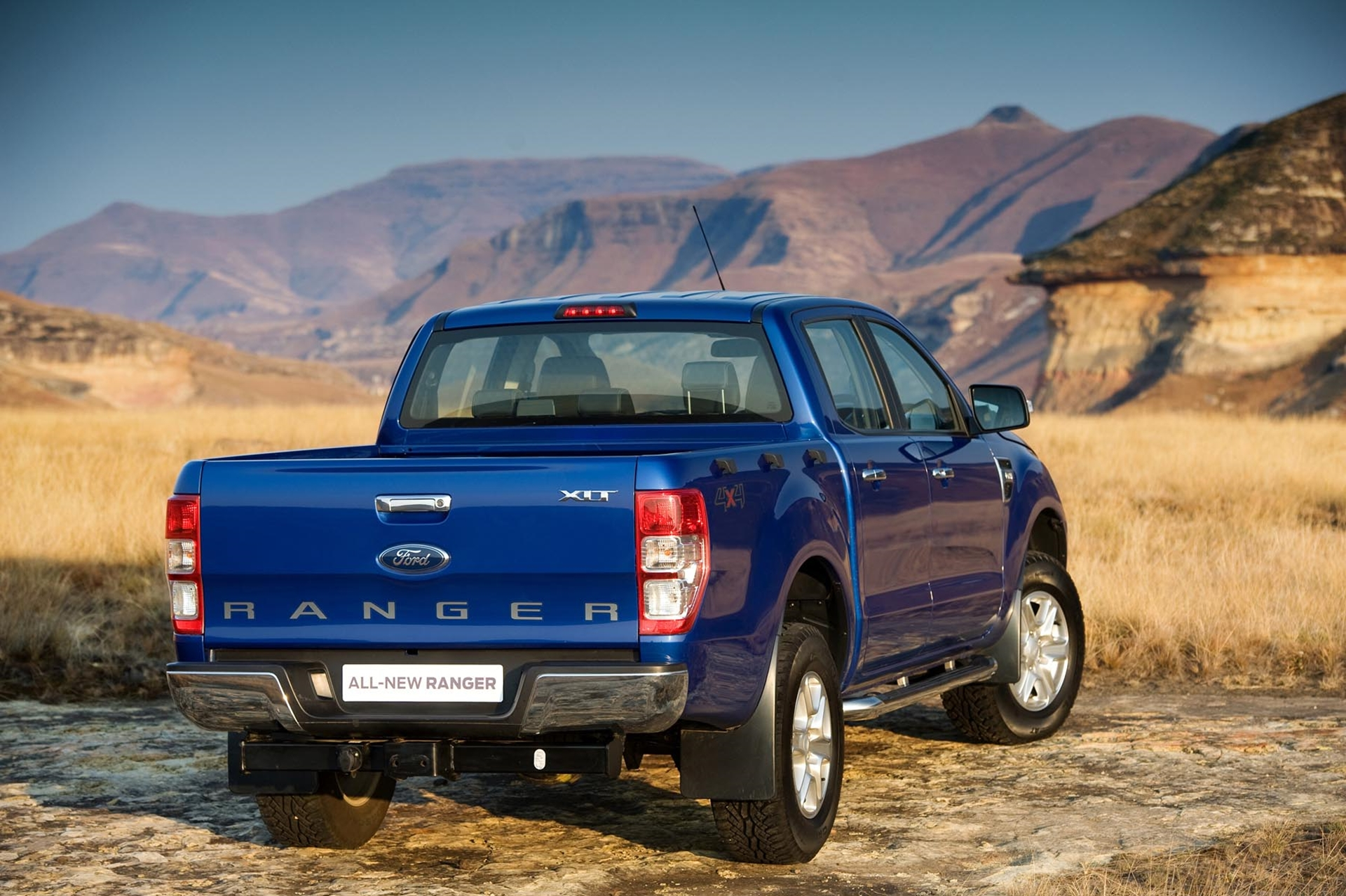 New Ford Ranger Off Road