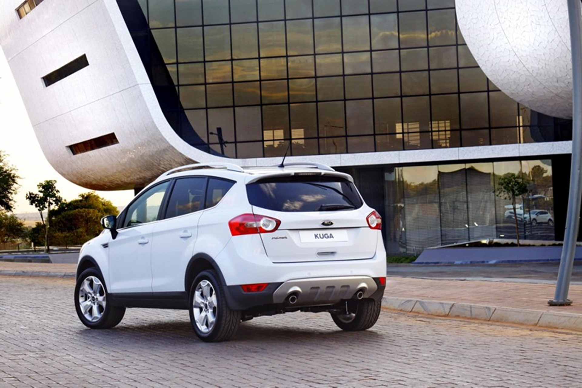 Ford Kuga Rear View