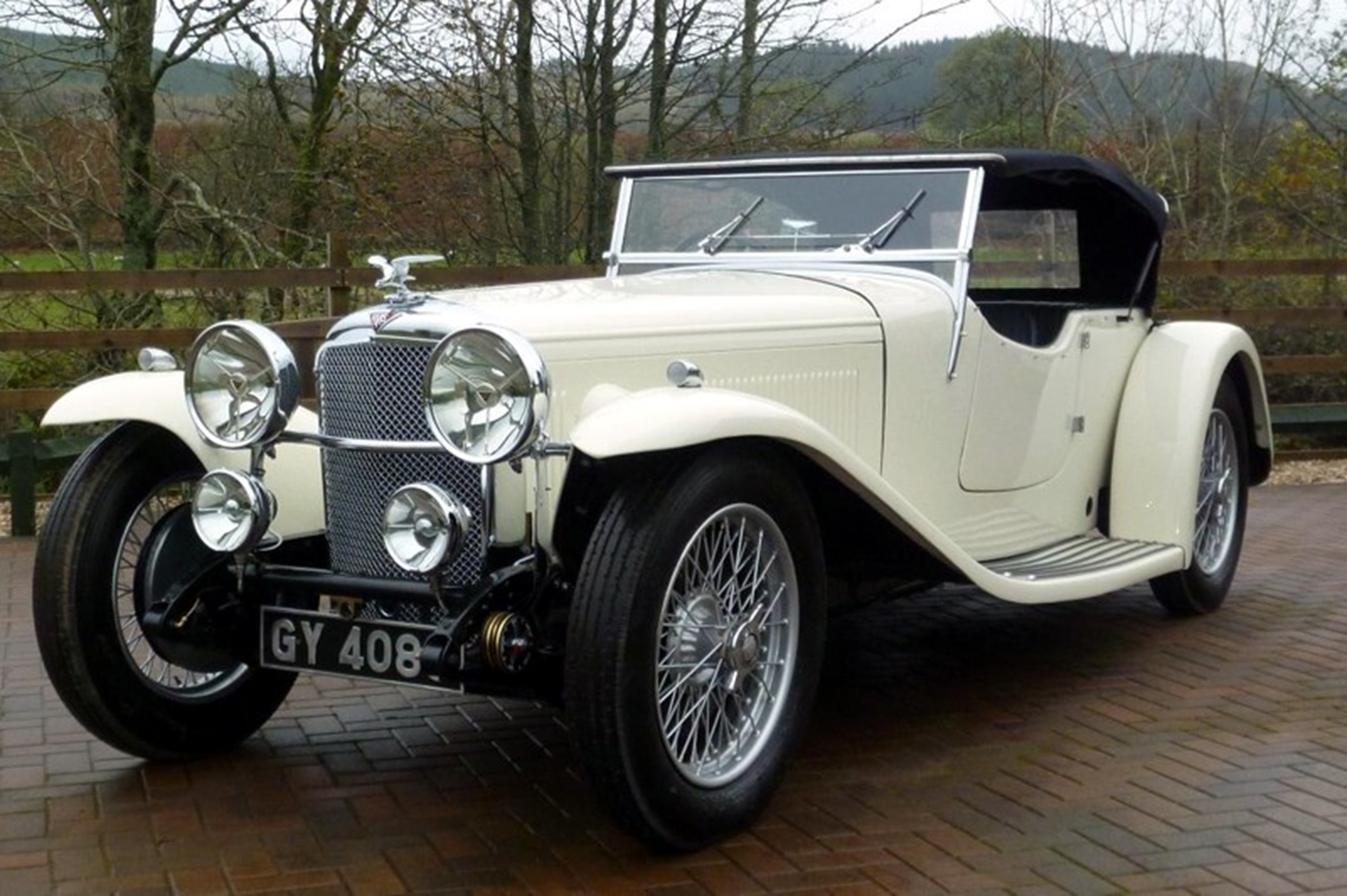 1932 Alvis Speed 20 SA two door Sports Tourer