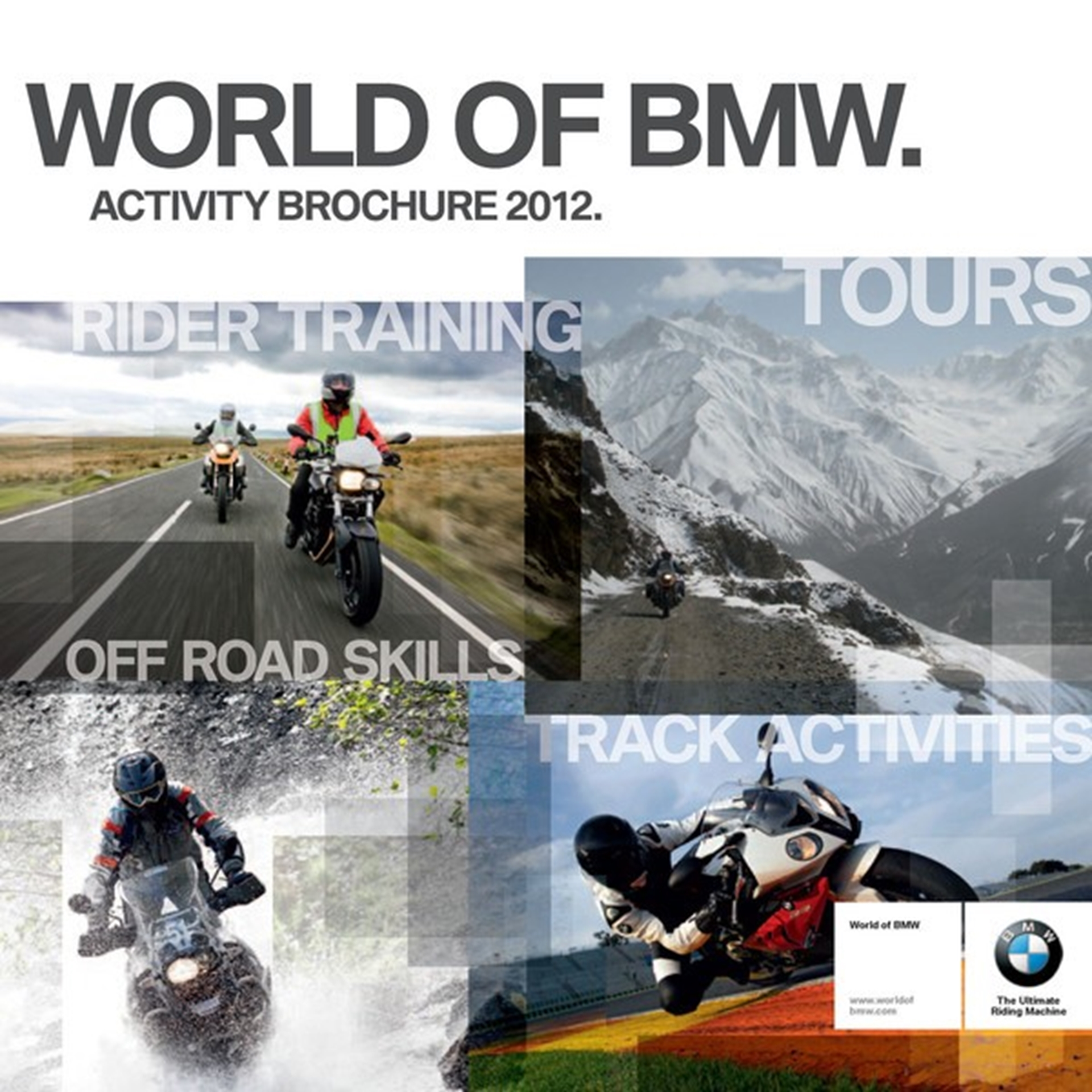 2012 world of bmw activity brochure