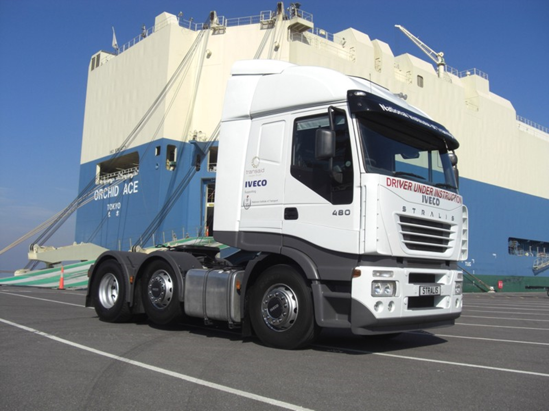 Iveco Stralis leaves UK for driver training role in Tanzania