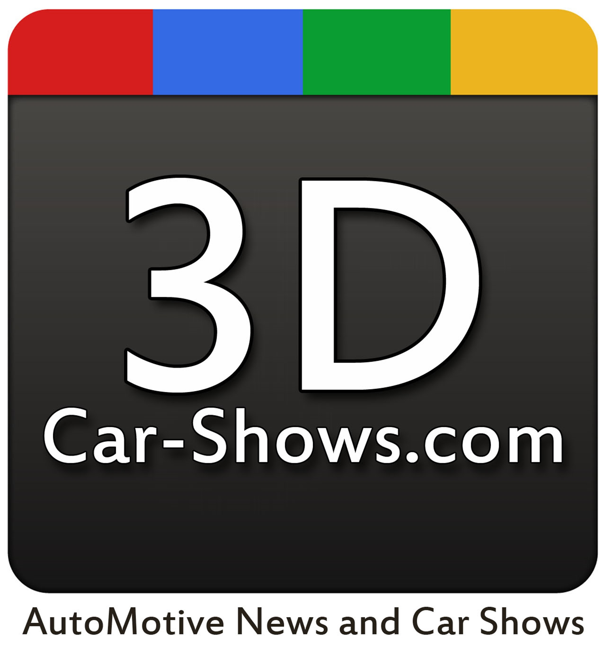 3D Car Shows Google+ Page Logo